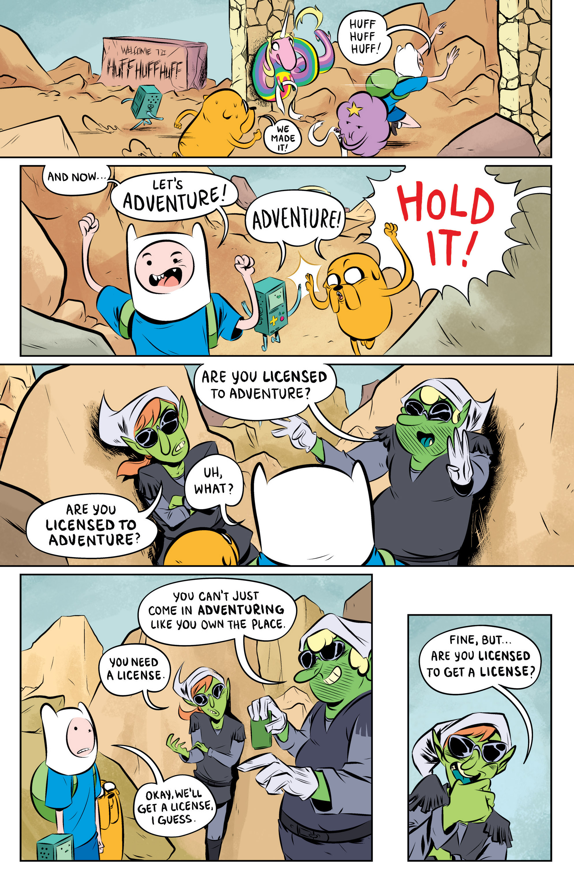 Read online Adventure Time: The Flip Side comic -  Issue #1 - 15