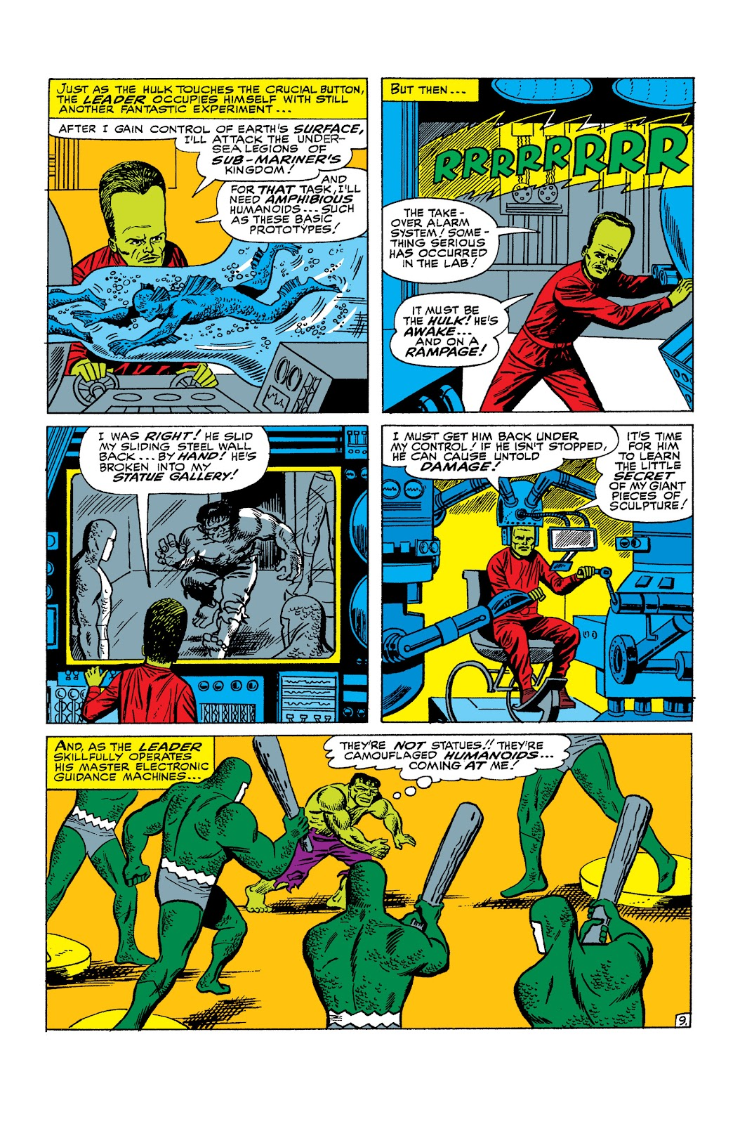 Read online Marvel Masterworks: The Incredible Hulk comic -  Issue # TPB 2 (Part 2) - 65