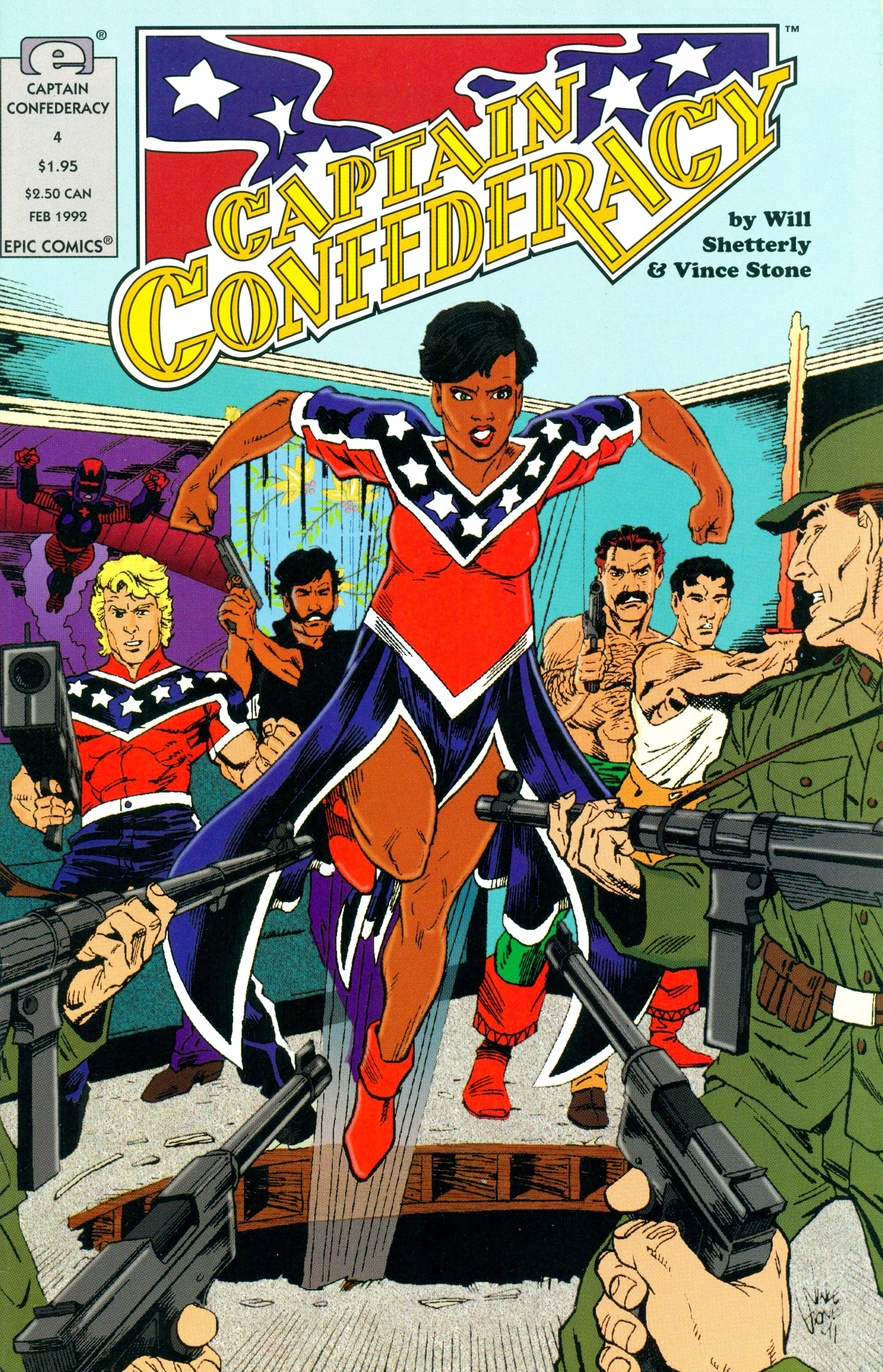 Captain Confederacy (1991) 4 Page 1