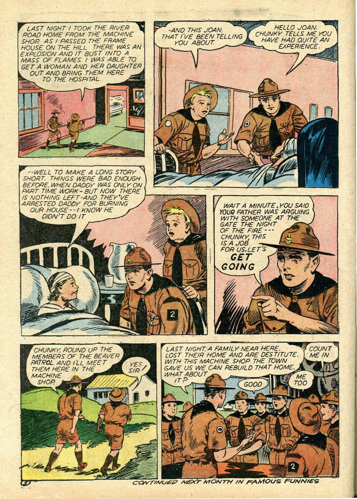 Read online Famous Funnies comic -  Issue #112 - 46