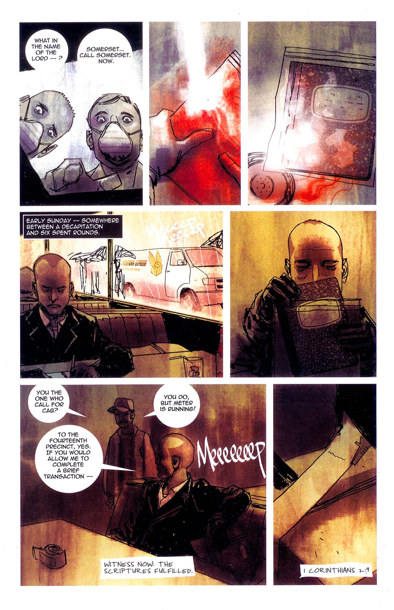 Read online Se7en comic -  Issue #7 - 28