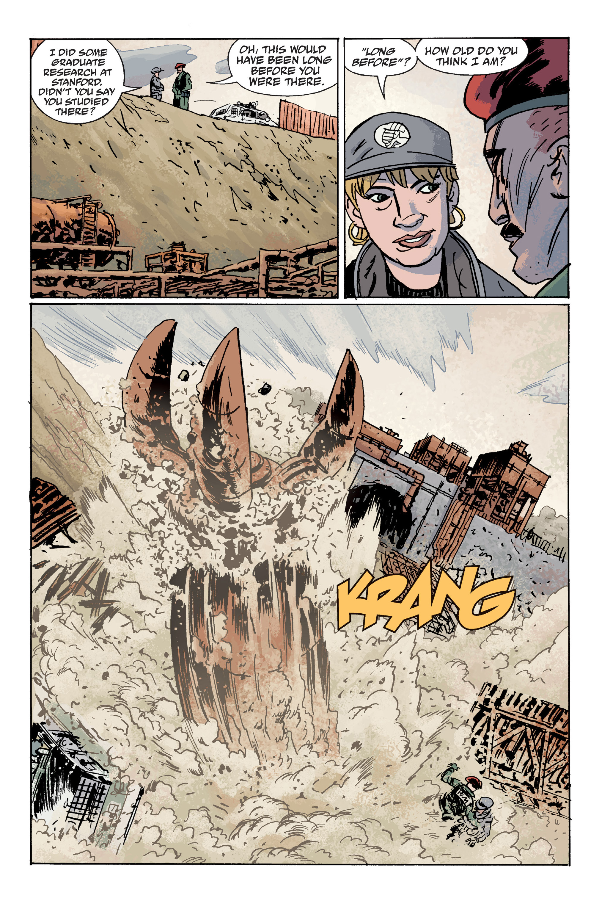 Read online B.P.R.D. (2003) comic -  Issue # TPB 10 - 83