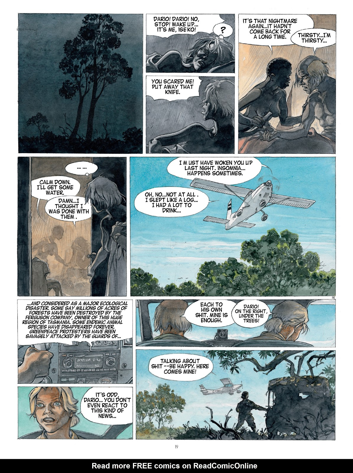 Read online Afrika comic -  Issue # TPB - 19