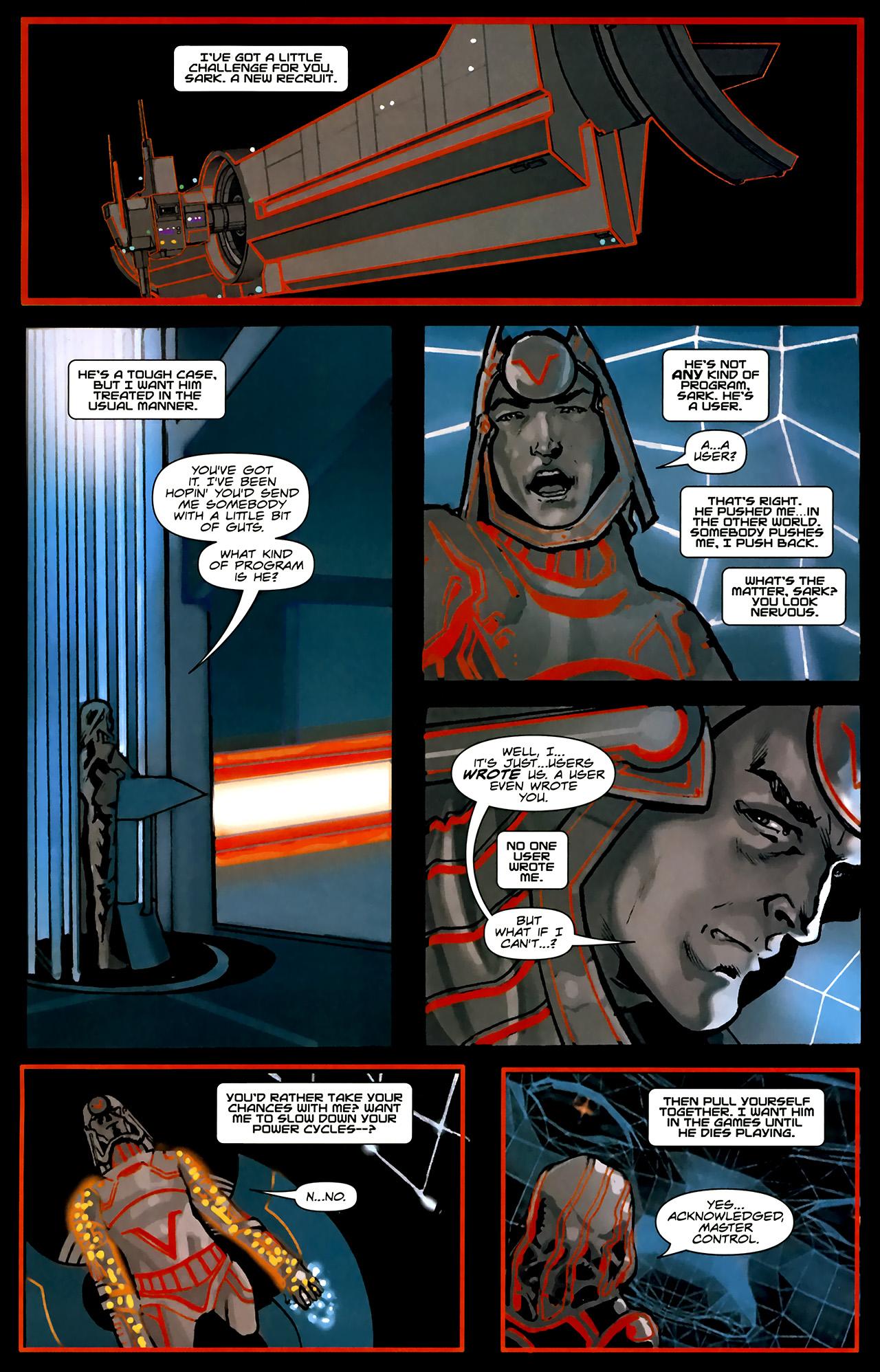 Read online TRON: Original Movie Adaptation comic -  Issue #1 - 31