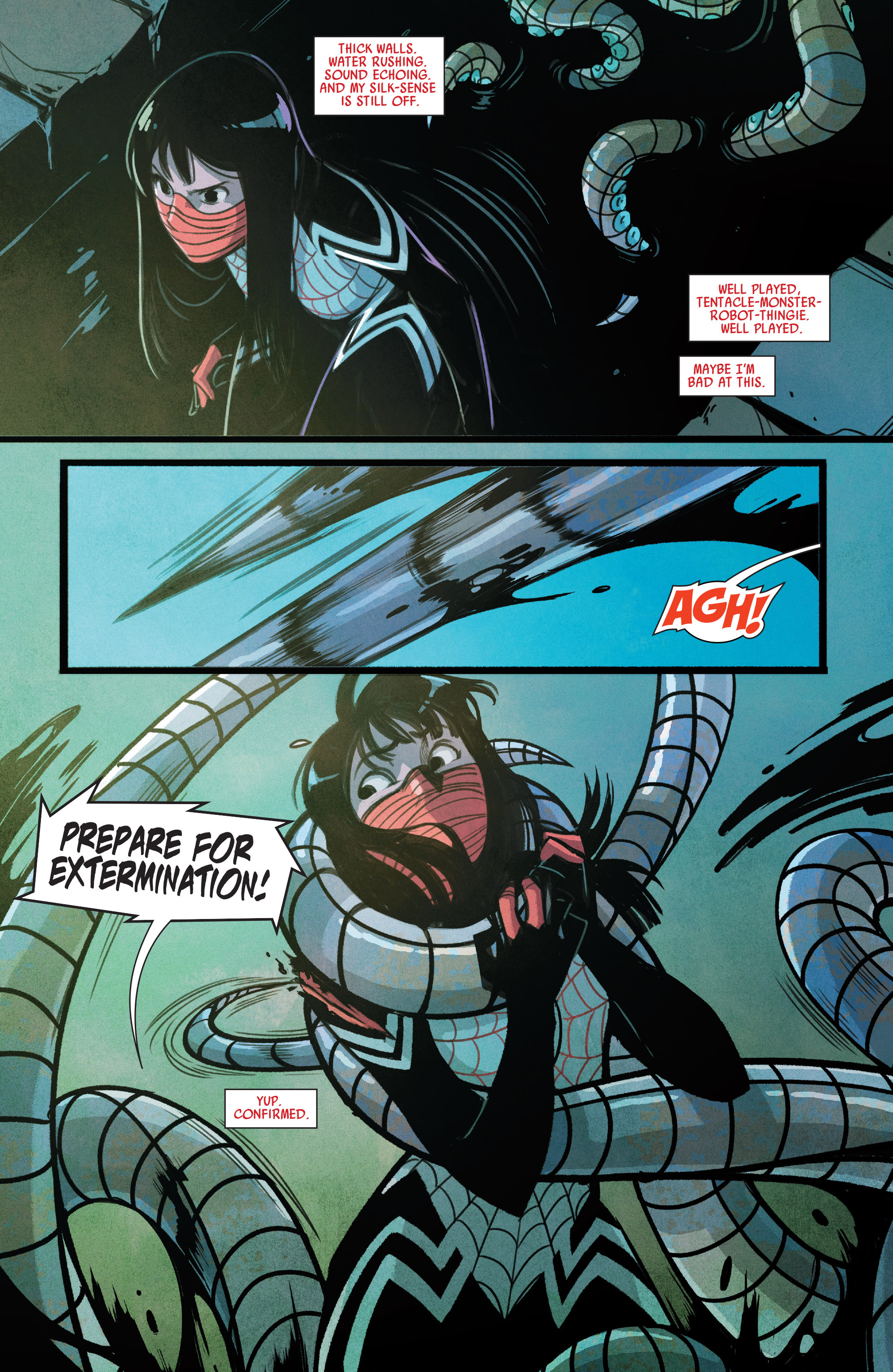 Read online Silk (2015) comic -  Issue #2 - 14
