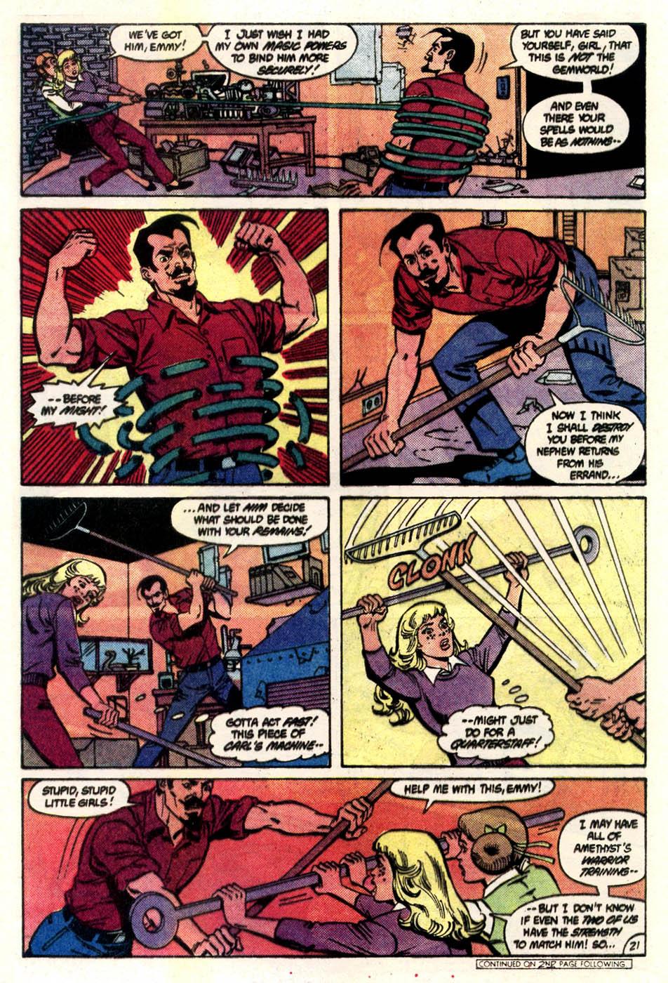 Read online Amethyst (1985) comic -  Issue #4 - 22