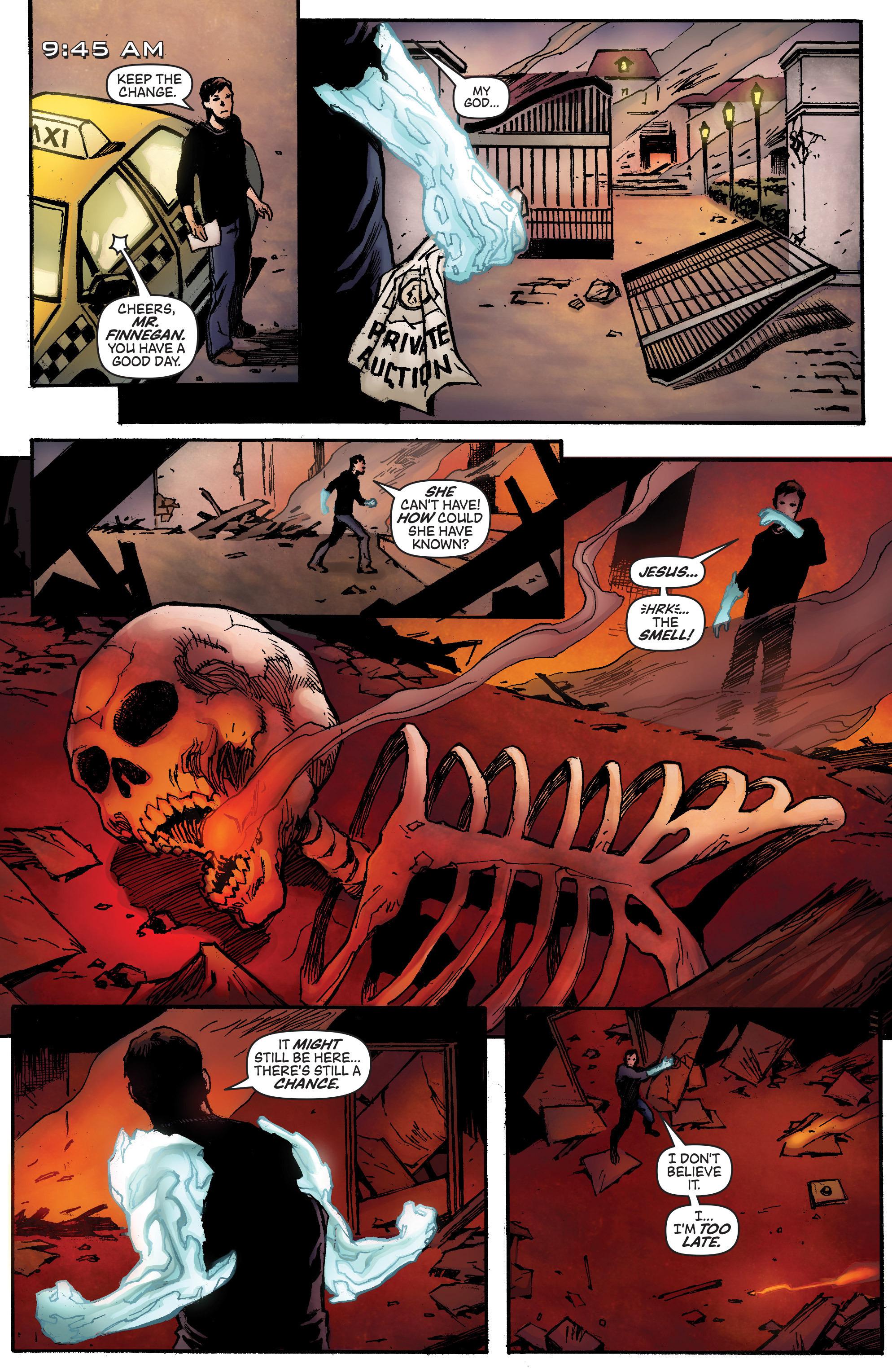Read online IXth Generation Hidden Files comic -  Issue #1 - 28