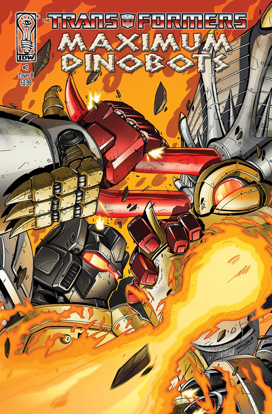The Transformers: Maximum Dinobots issue 2 - Page 1