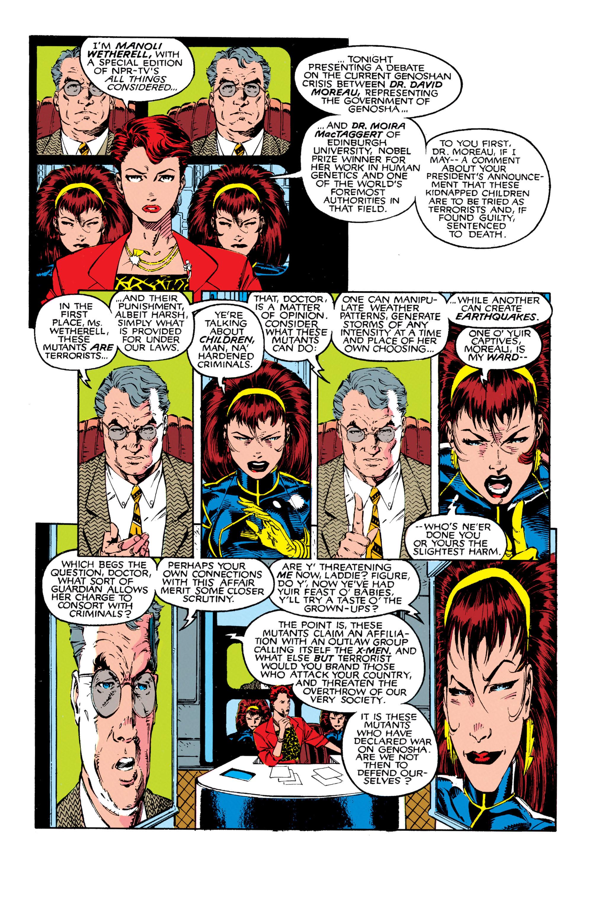 Read online Uncanny X-Men (1963) comic -  Issue #271 - 10