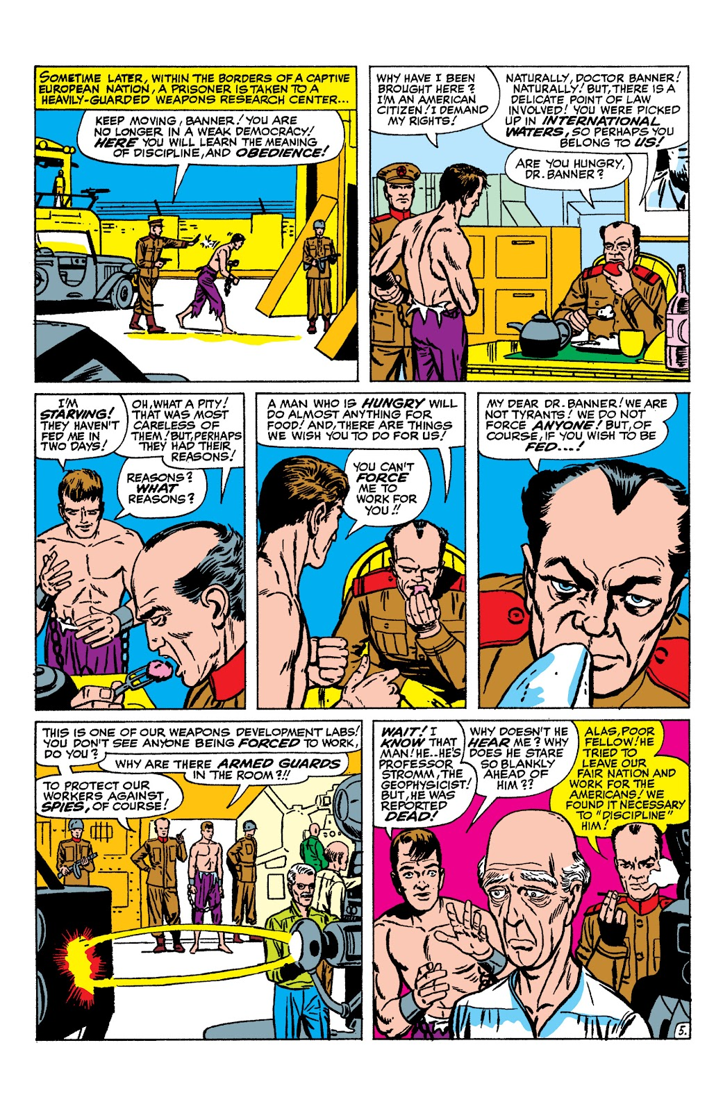 Read online Marvel Masterworks: The Incredible Hulk comic -  Issue # TPB 2 (Part 1) - 84