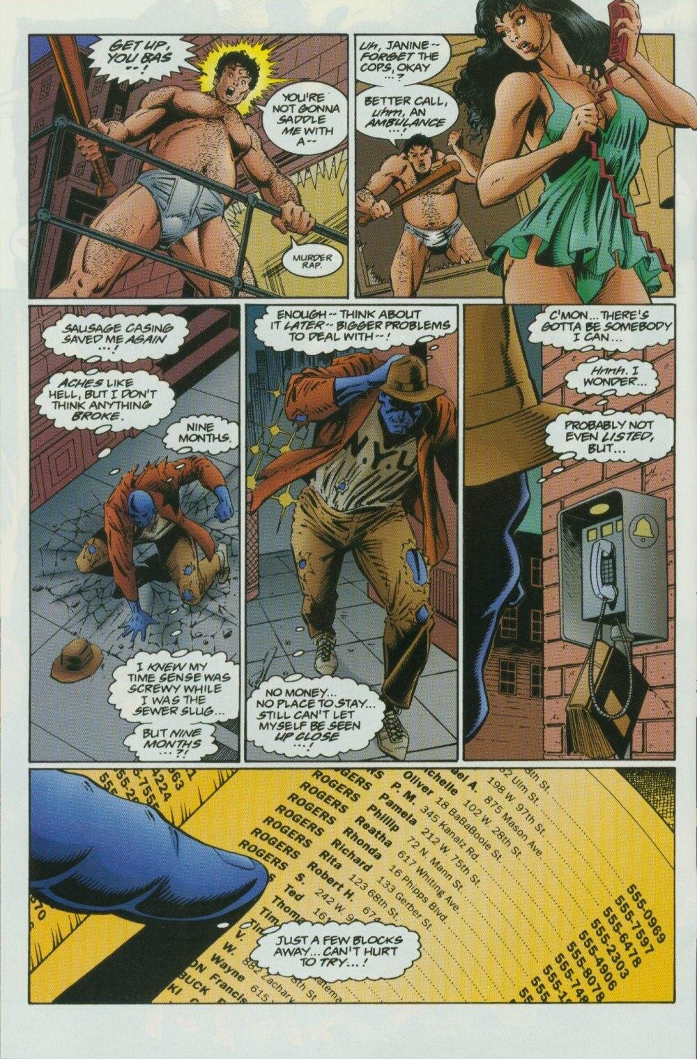 Read online Sludge comic -  Issue #10 - 19