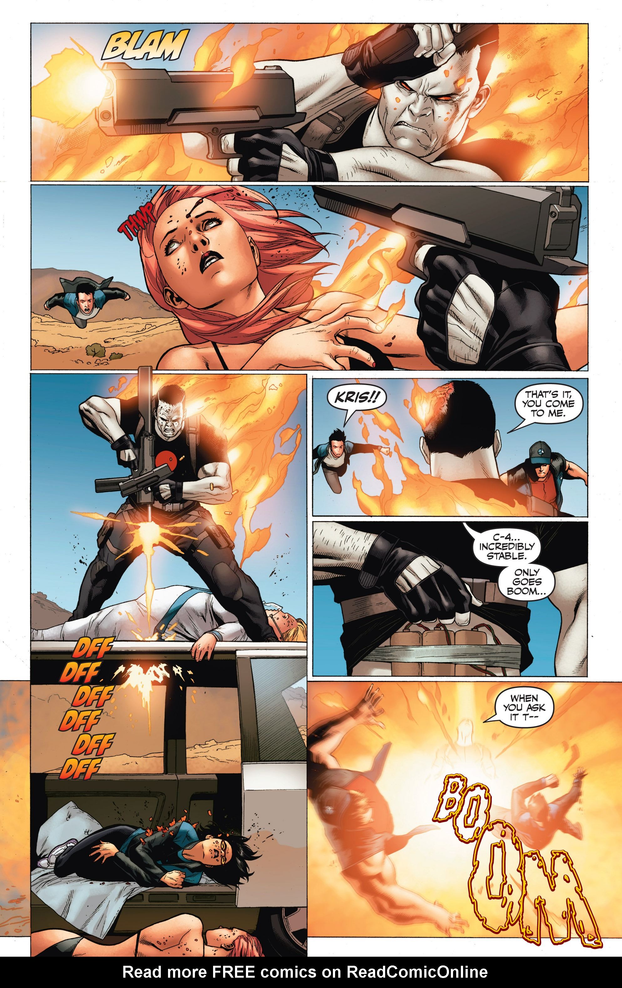 Read online Armor Hunters: Harbinger comic -  Issue # TPB - 90