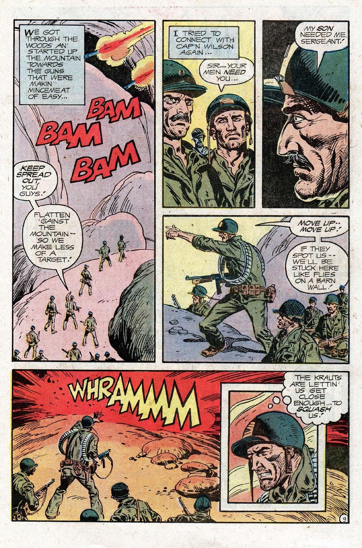 Read online Sgt. Rock comic -  Issue #331 - 15