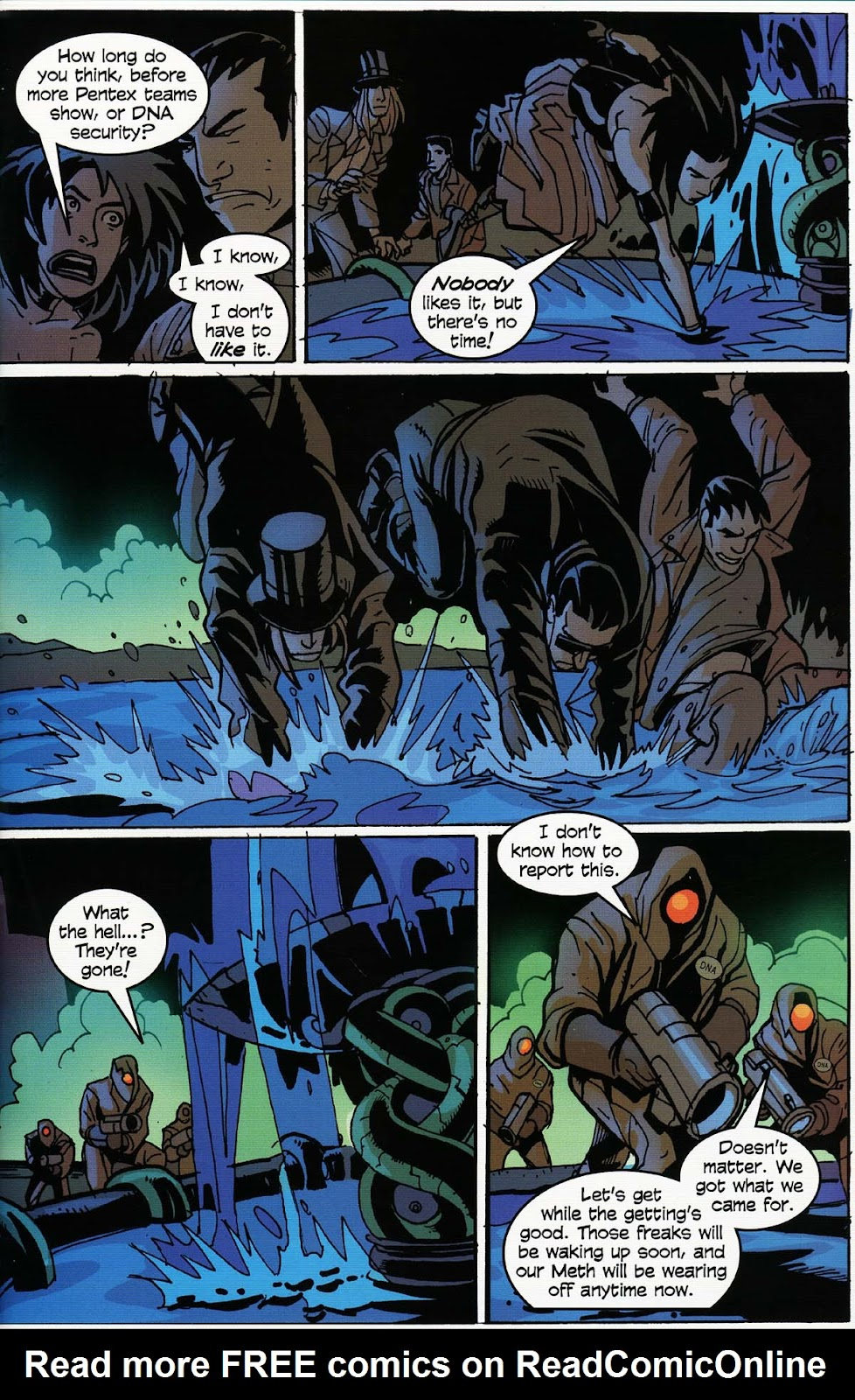 Read online Werewolf the Apocalypse comic -  Issue # Bone Gnawers - 47