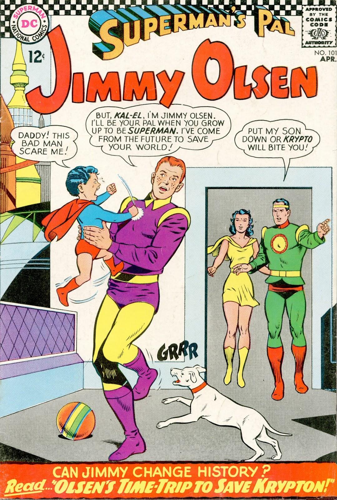 Supermans Pal Jimmy Olsen (1954) 101 Page 1