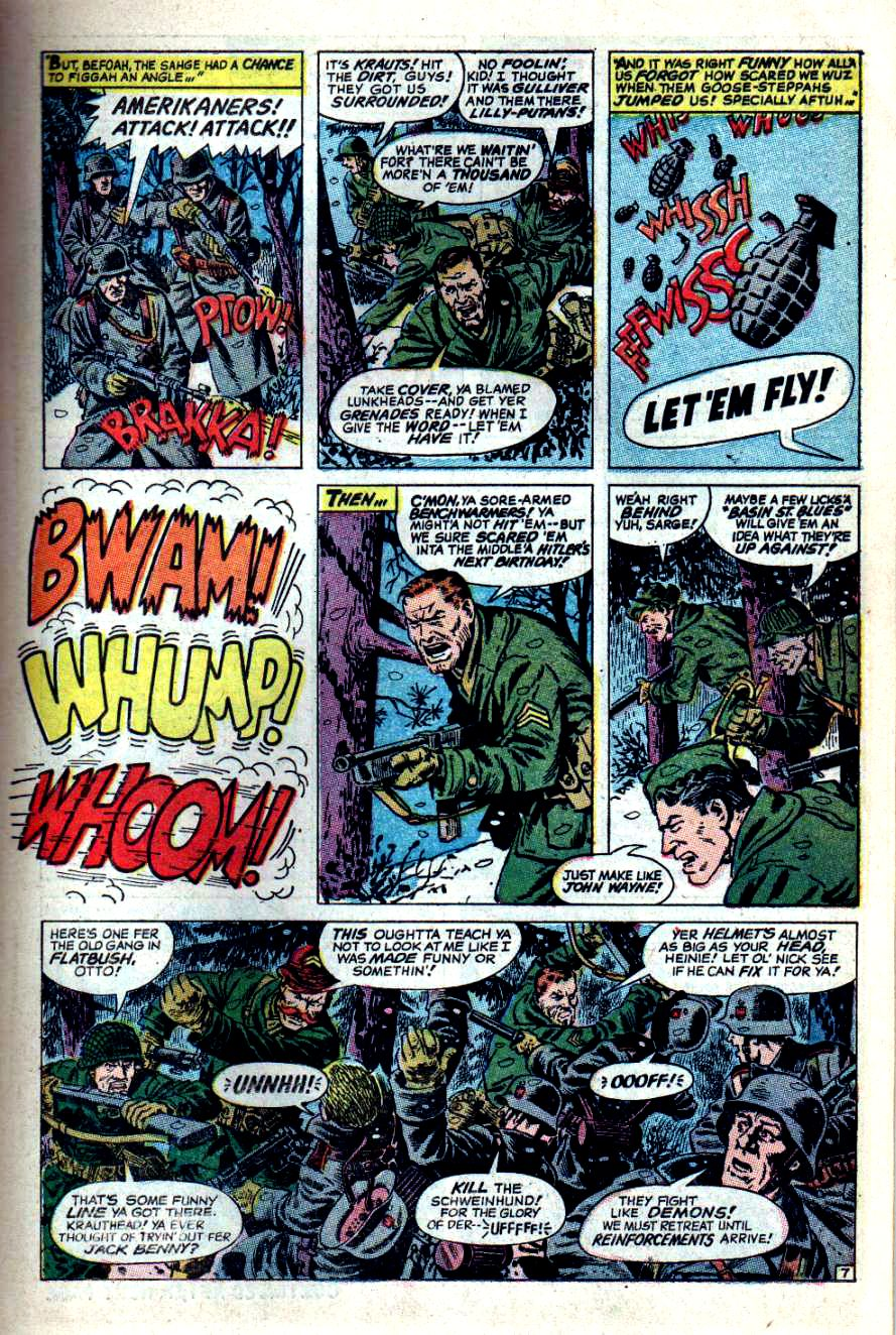 Read online Sgt. Fury comic -  Issue #44 - 11
