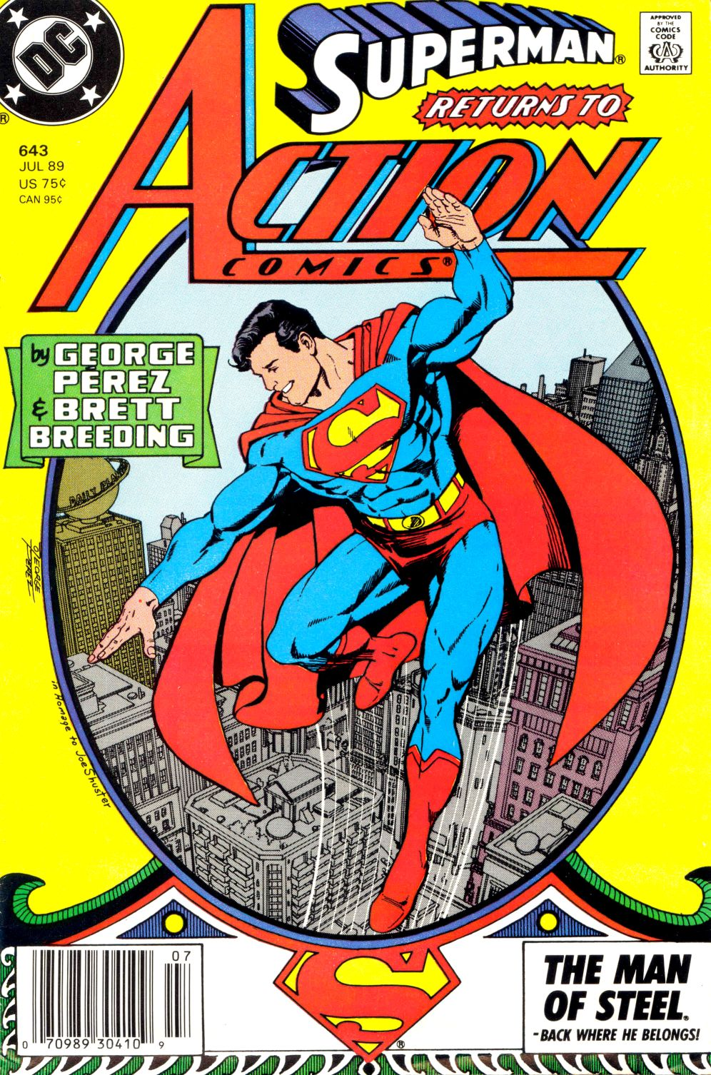 Action Comics (1938) 643 Page 1
