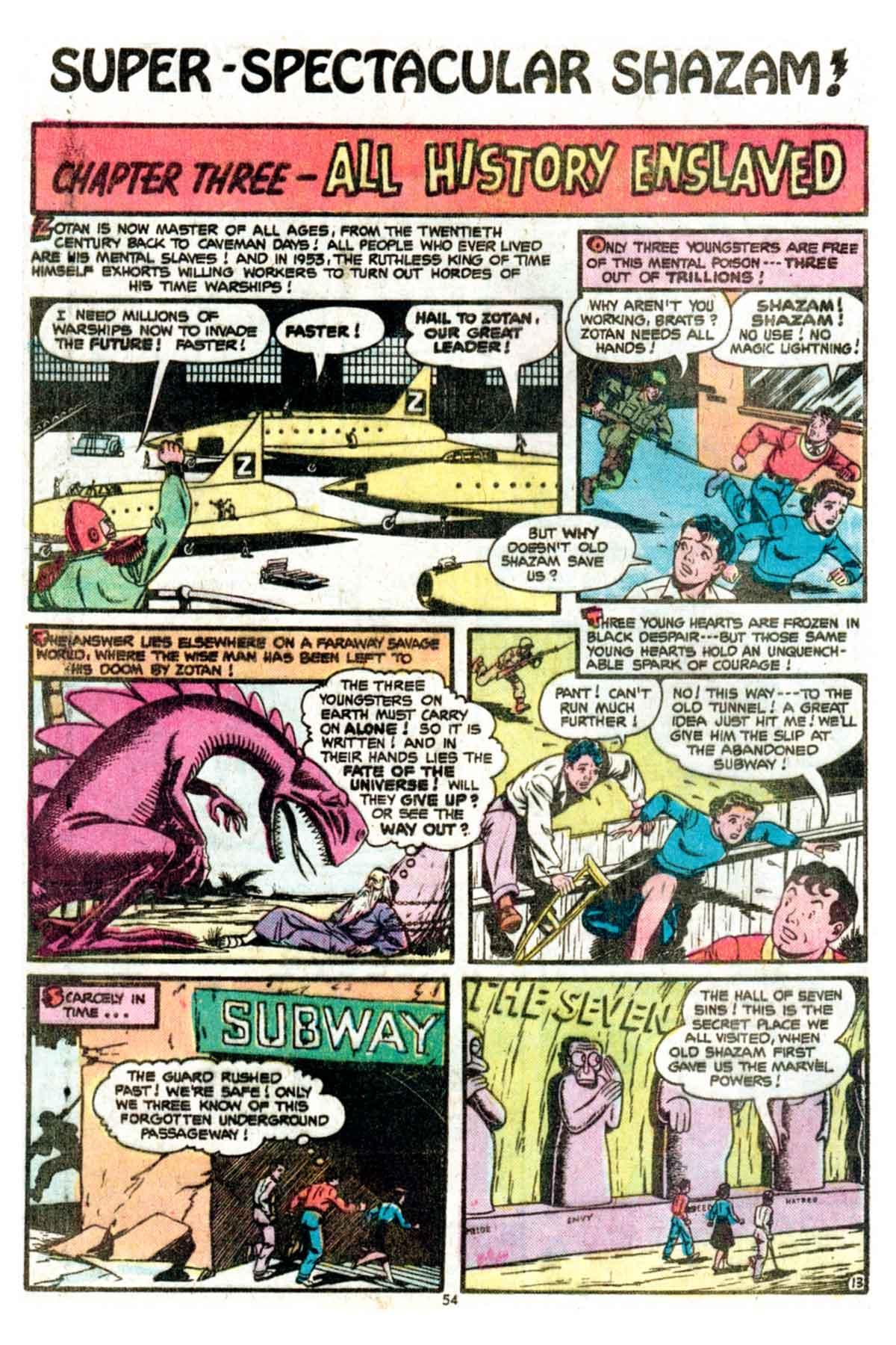 Read online Shazam! (1973) comic -  Issue #15 - 54