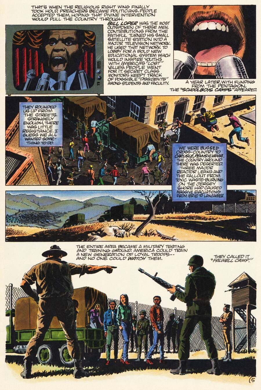 Read online Scout comic -  Issue #7 - 7