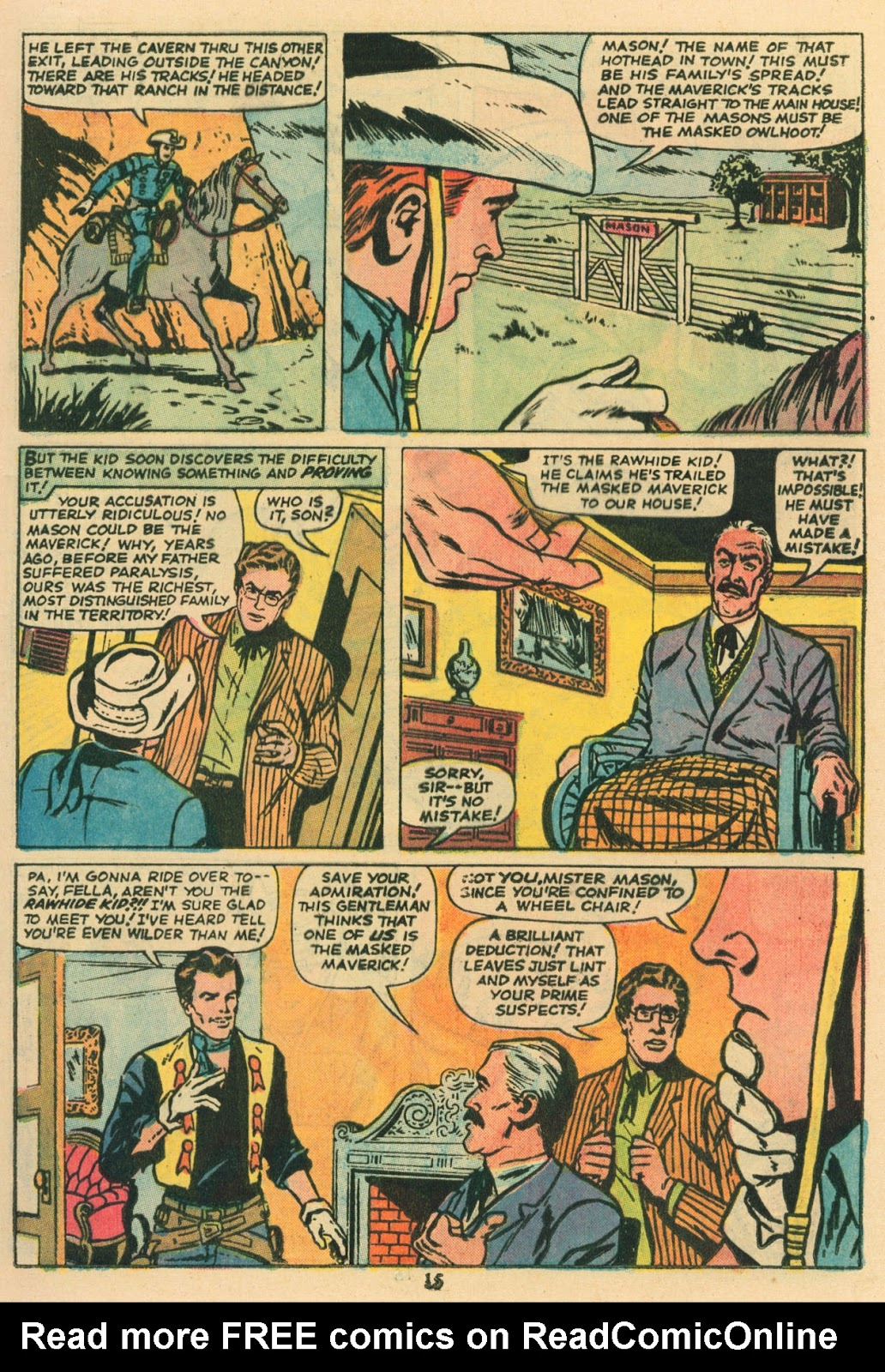The Rawhide Kid (1955) issue 117 - Page 10