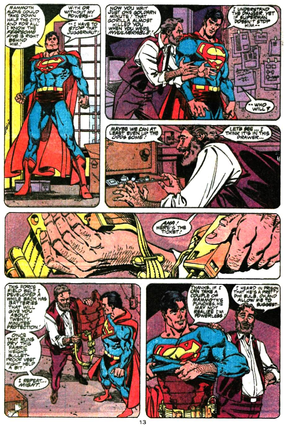 Read online Adventures of Superman (1987) comic -  Issue #472 - 14