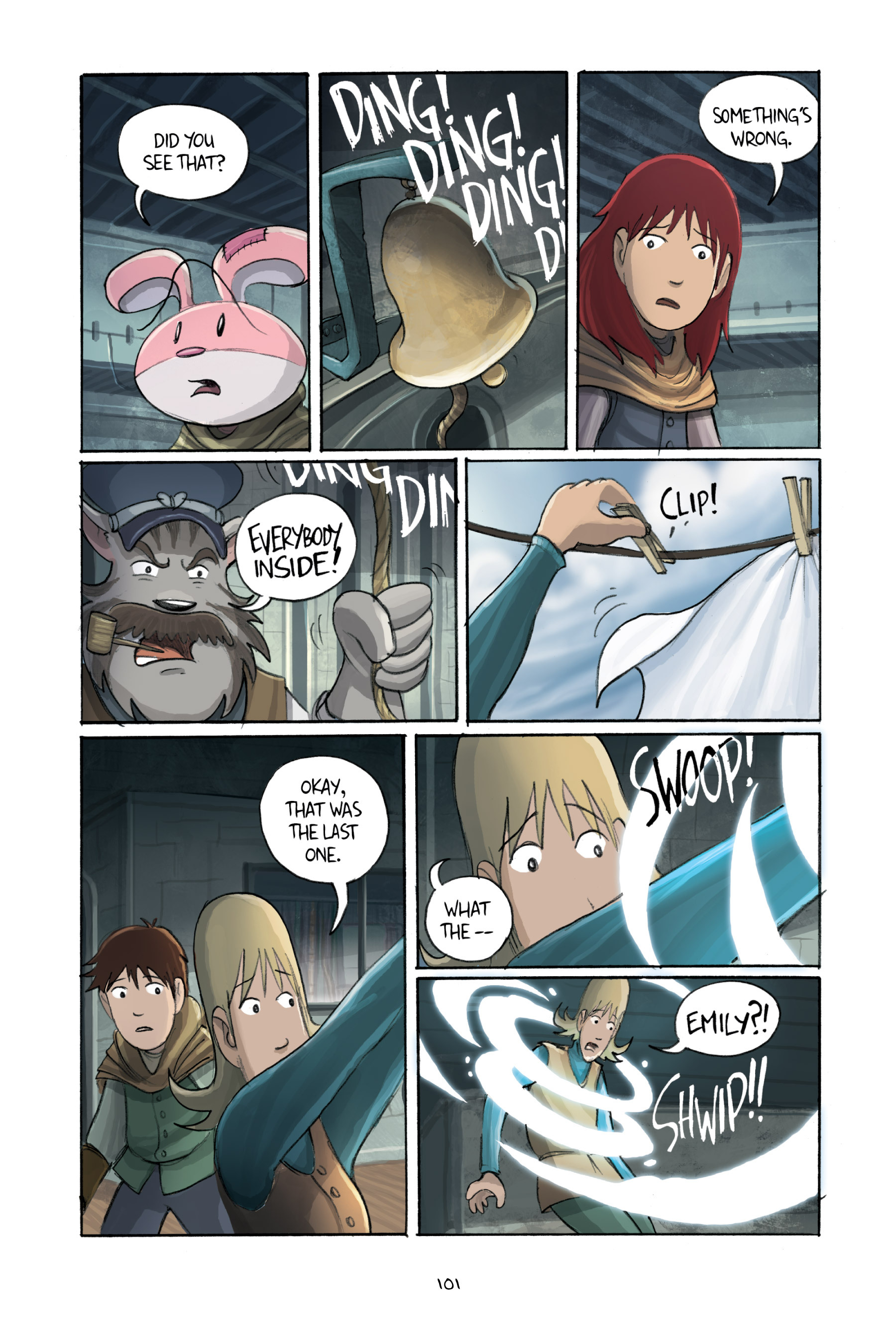 Read online Amulet comic -  Issue #3 - 99