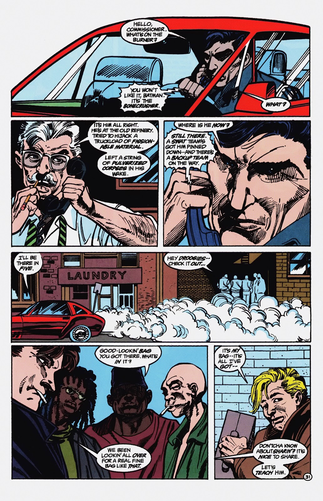 Read online Detective Comics (1937) comic -  Issue # _TPB Batman - Blind Justice (Part 1) - 36