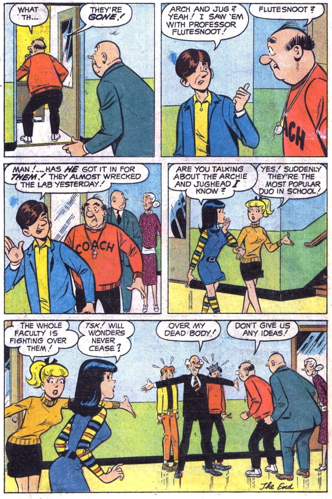 Read online Archie (1960) comic -  Issue #189 - 18