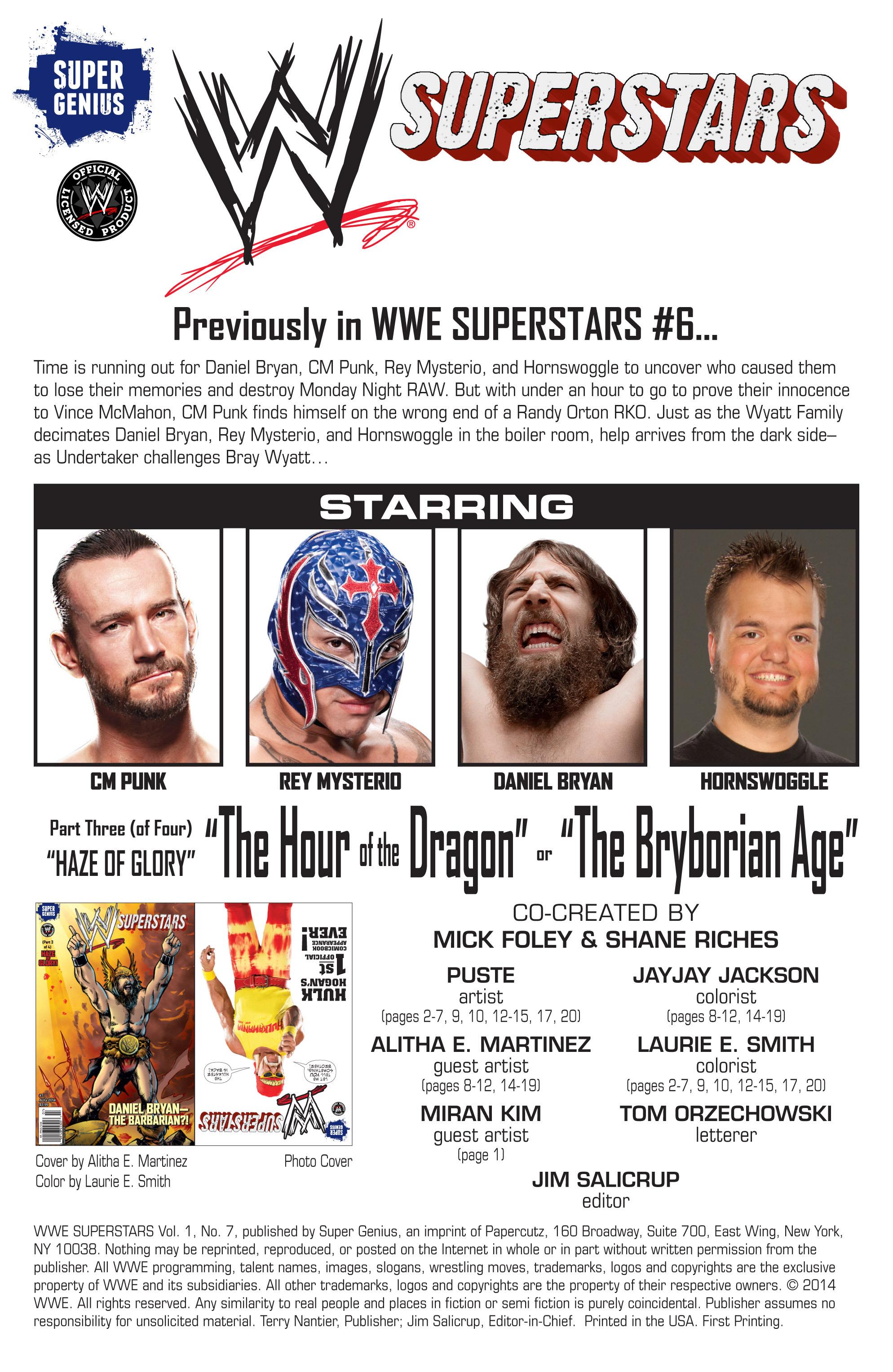 Read online WWE Superstars comic -  Issue #7 - 2