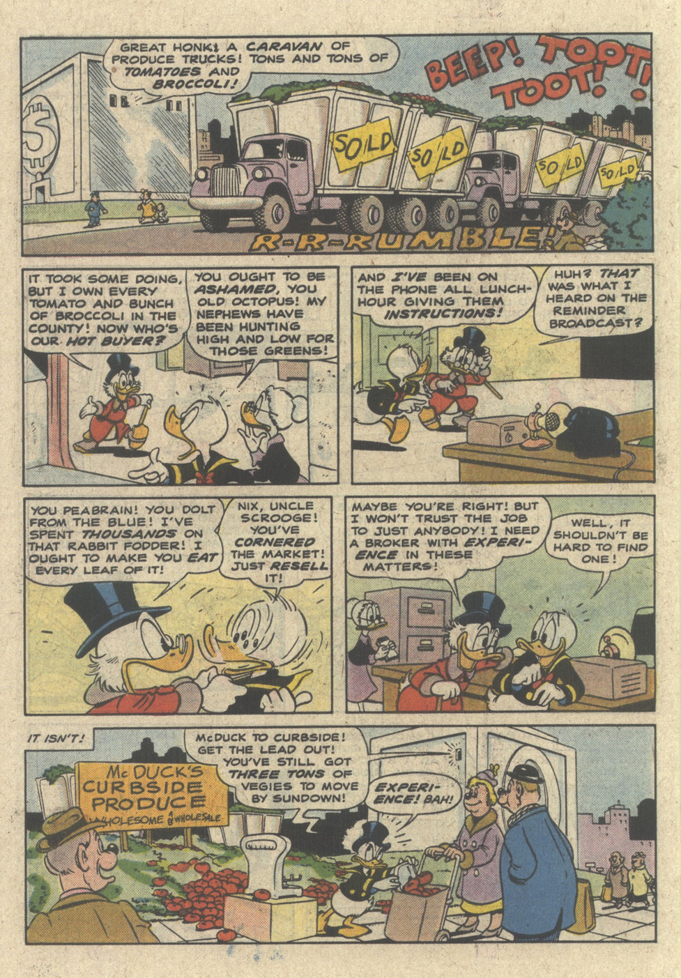 Read online Uncle Scrooge (1953) comic -  Issue #227 - 34