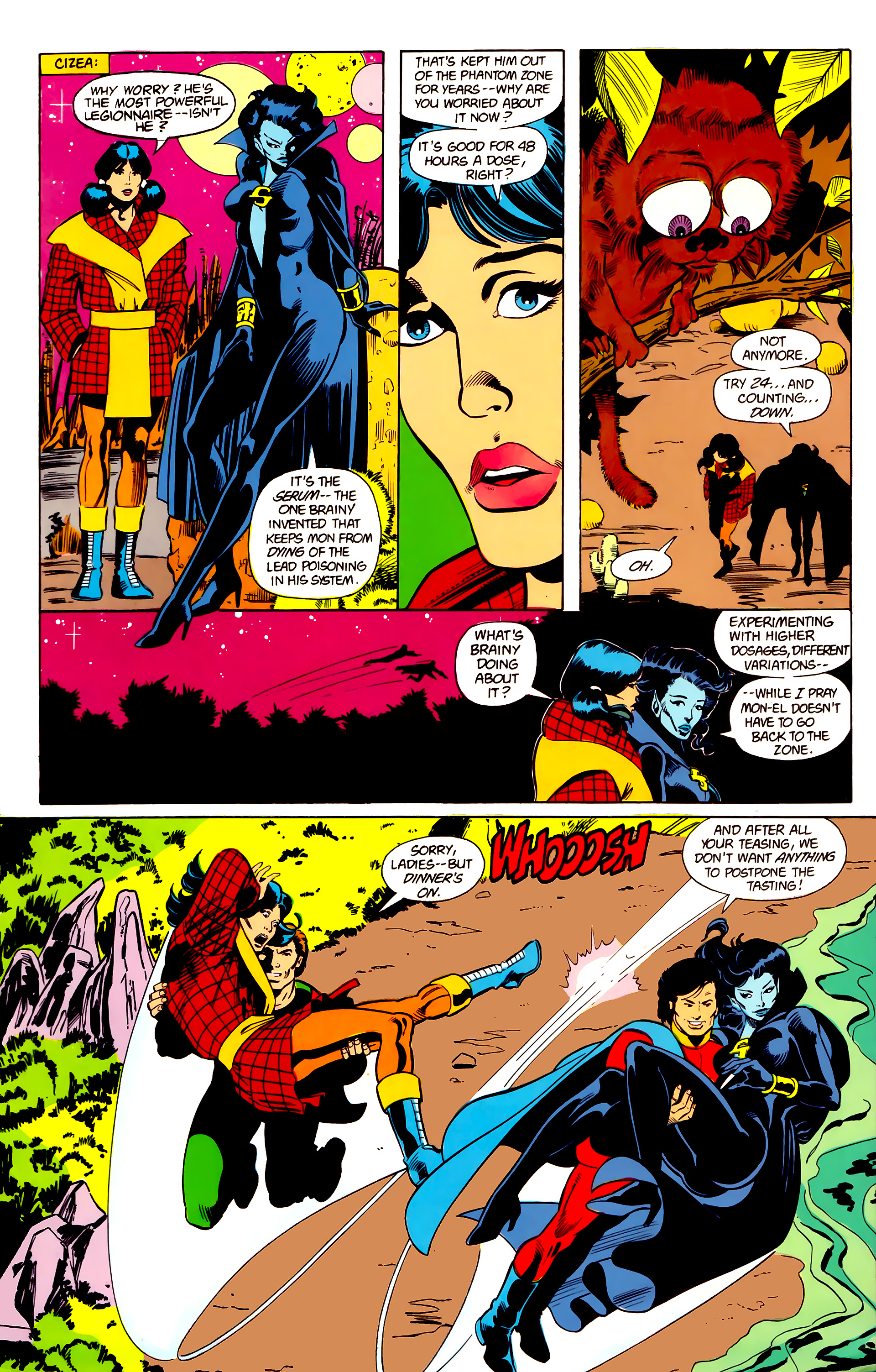 Legion of Super-Heroes (1984) 21 Page 16