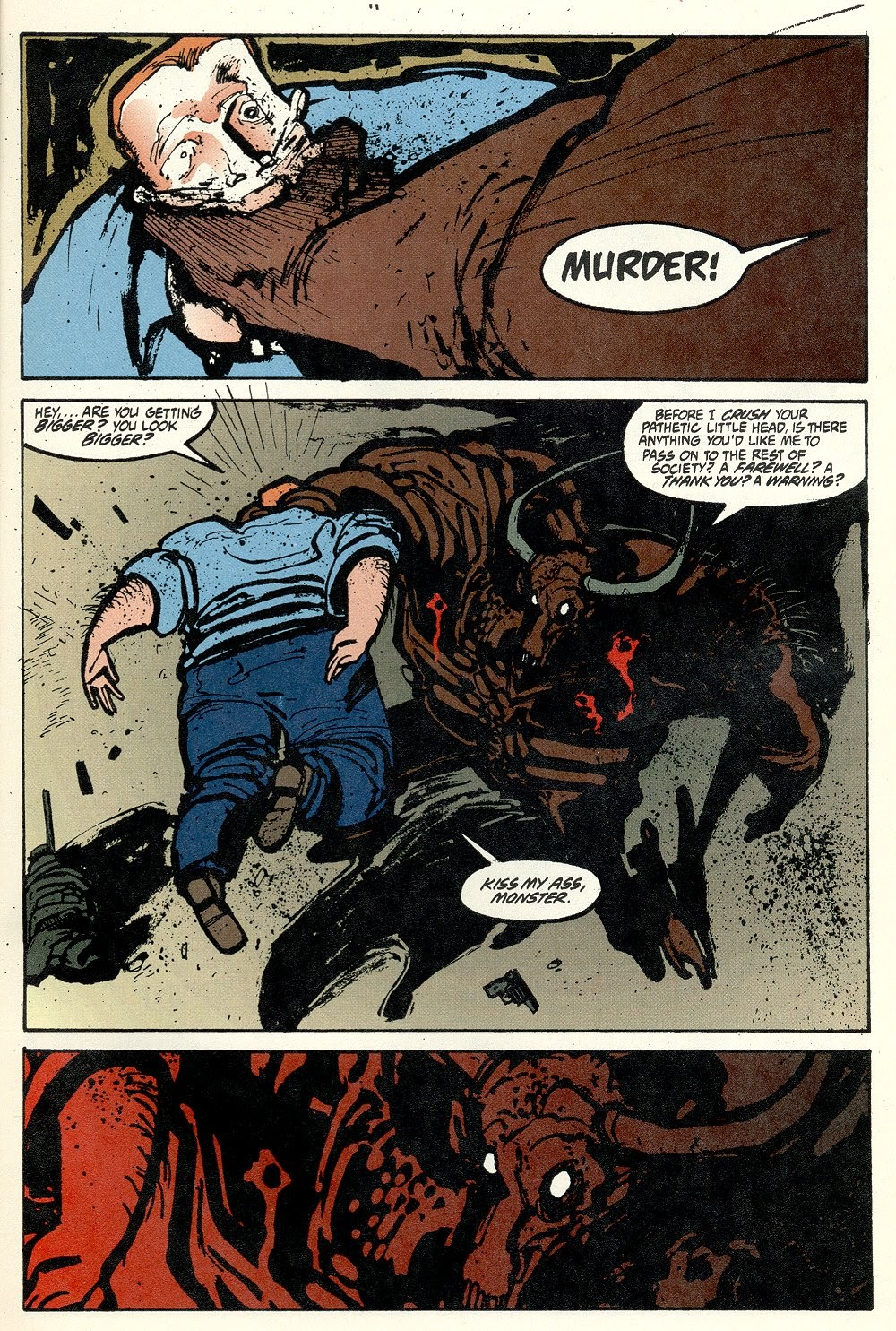 Read online Ted McKeever's Metropol comic -  Issue #11 - 5