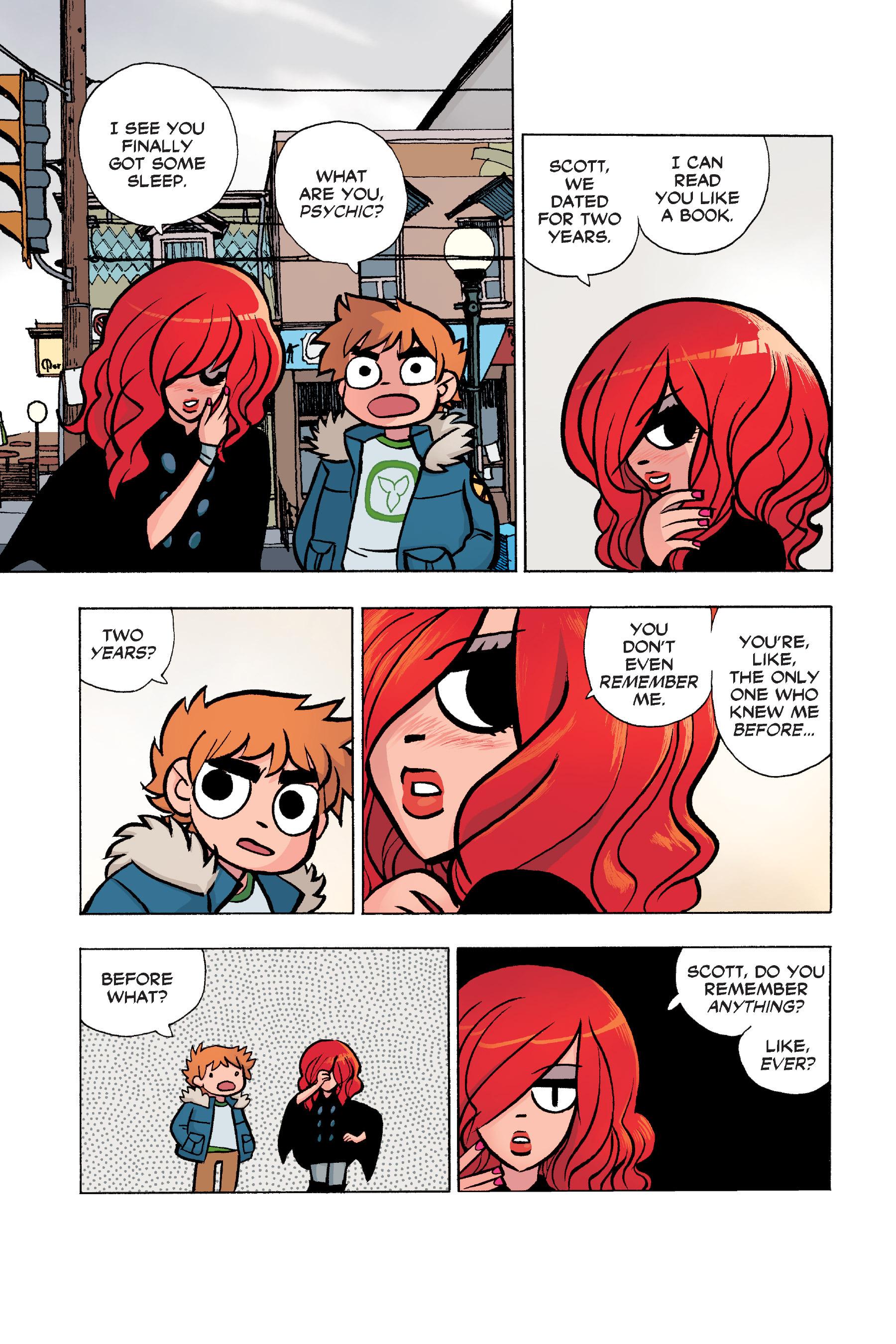 Read online Scott Pilgrim comic -  Issue #6 - 56