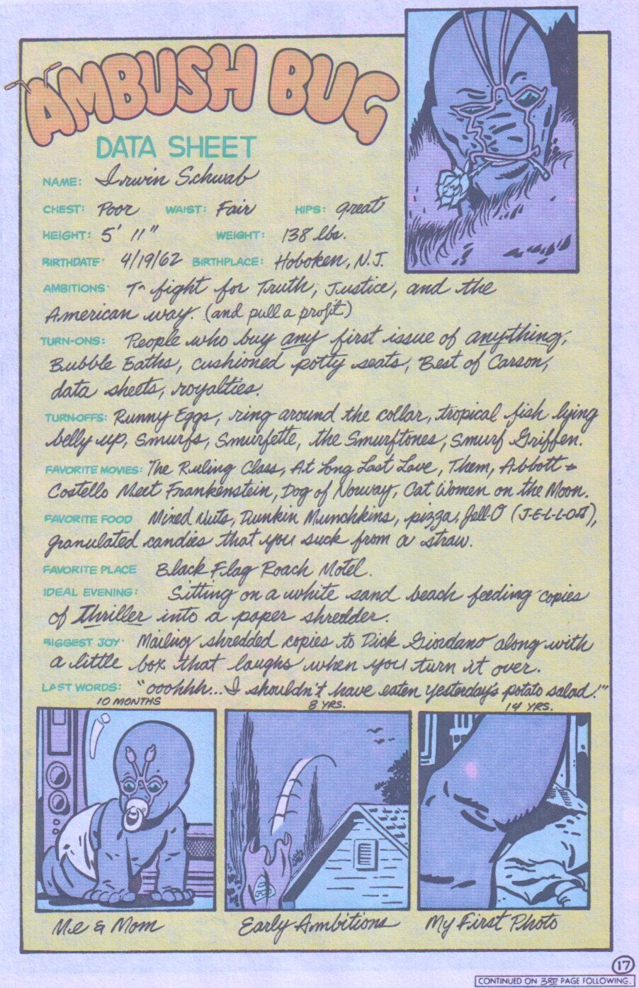 Read online Ambush Bug comic -  Issue #1 - 18