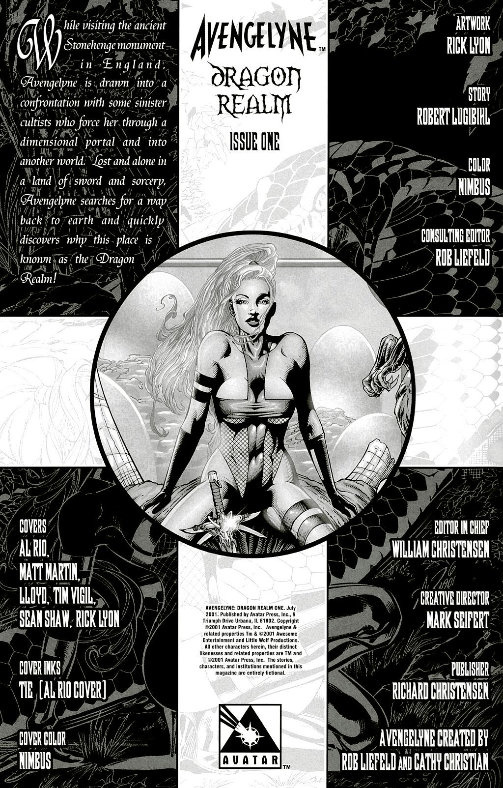 Read online Avengelyne: Dragon Realm comic -  Issue #1 - 3