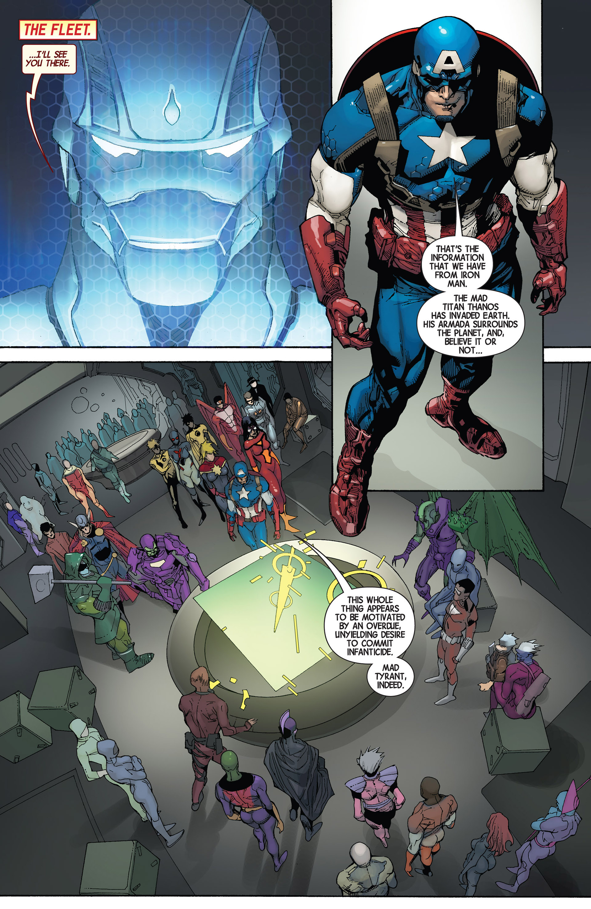 Read online Avengers (2013) comic -  Issue #22 - 16