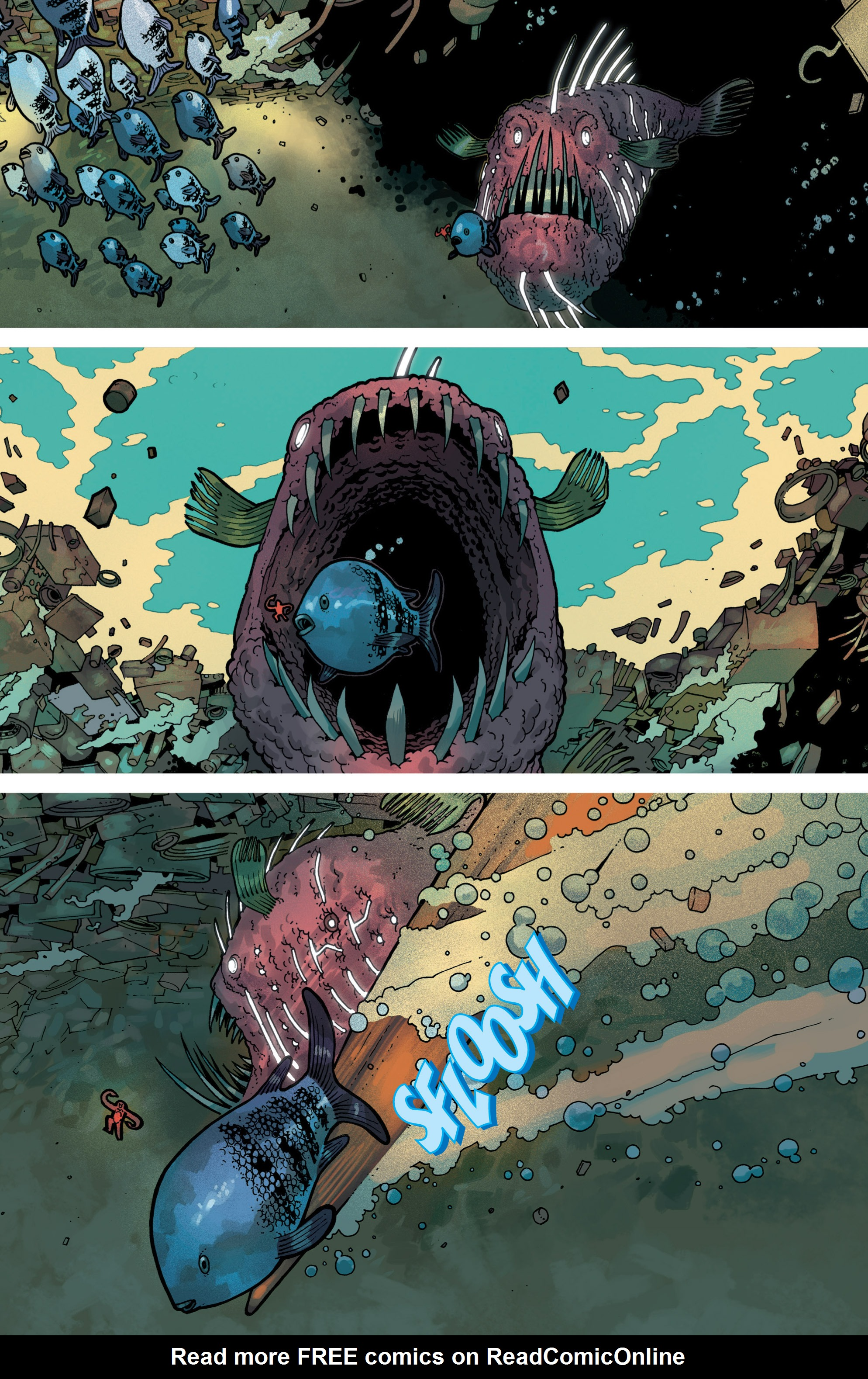 Read online Great Pacific comic -  Issue #8 - 4