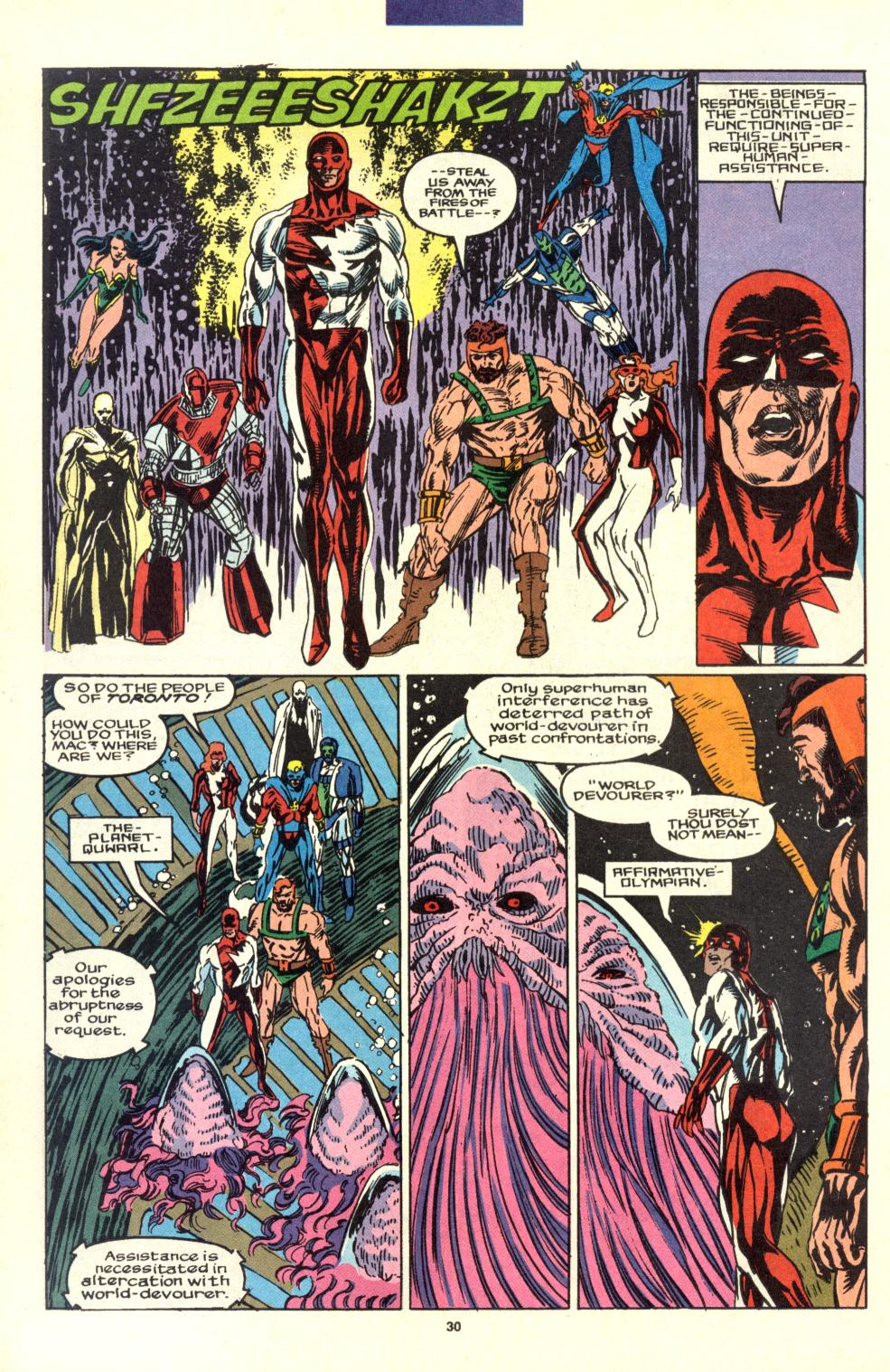 Read online Alpha Flight (1983) comic -  Issue #99 - 24