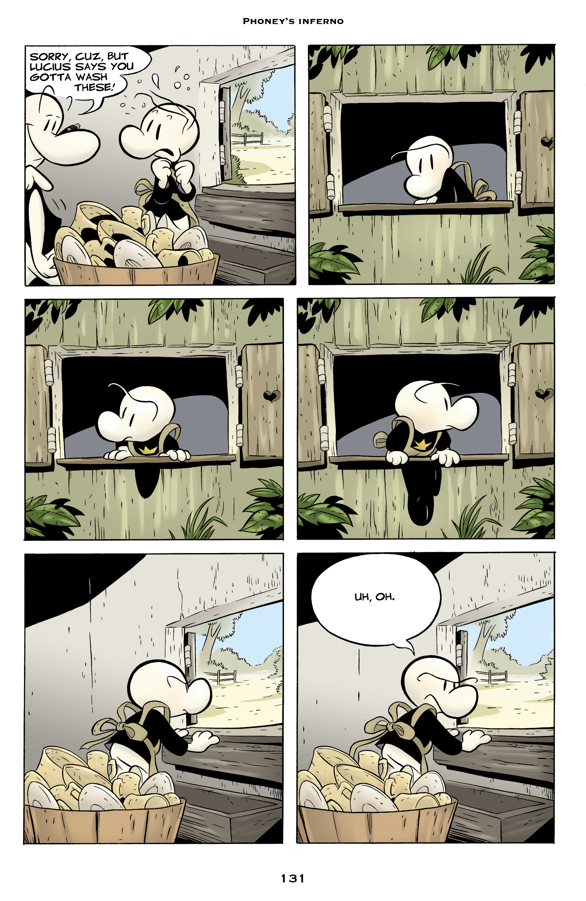 Read online Bone: Out From Boneville comic -  Issue # TPB - 131