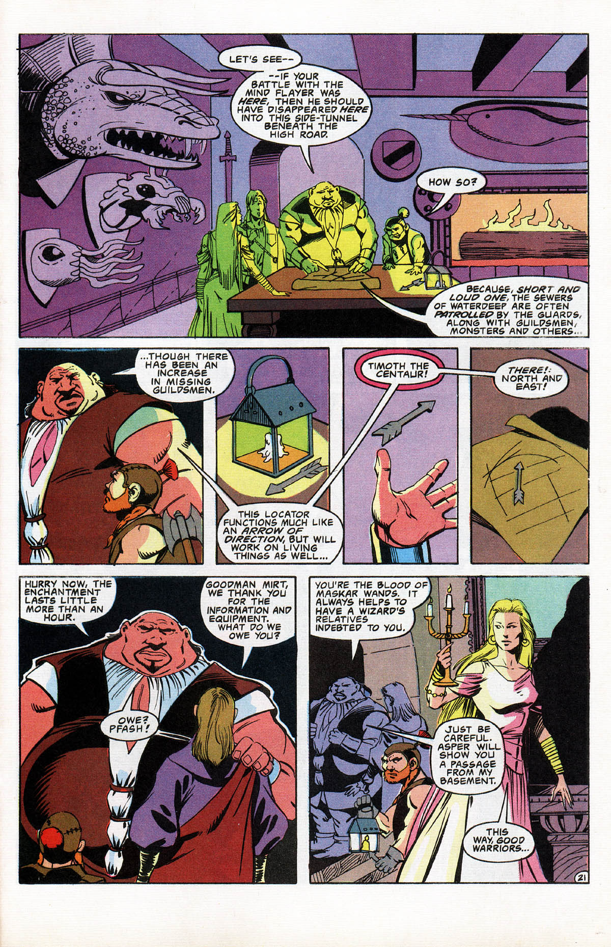 Read online Advanced Dungeons & Dragons comic -  Issue #10 - 26
