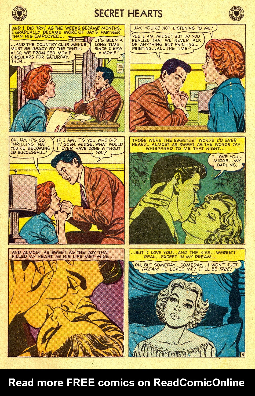 Read online Secret Hearts comic -  Issue #45 - 5