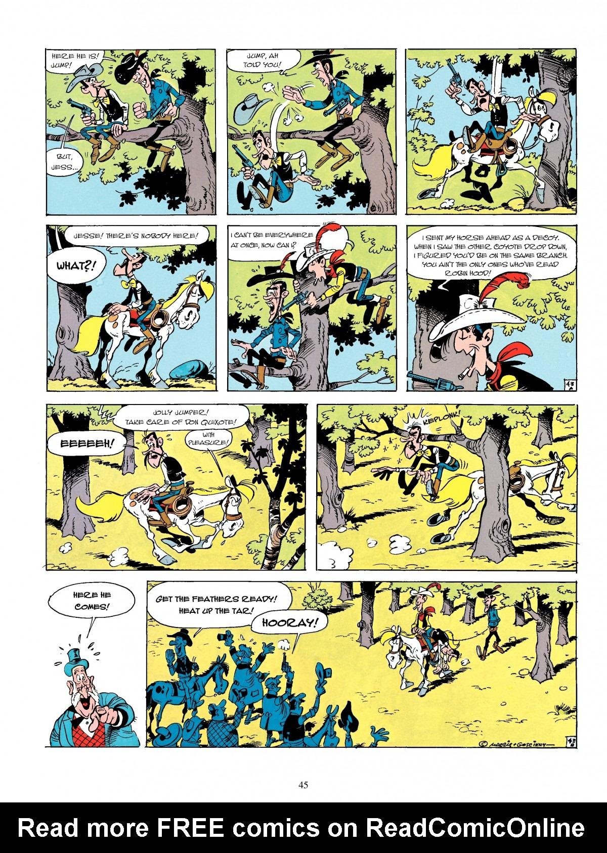 Read online A Lucky Luke Adventure comic -  Issue #4 - 47