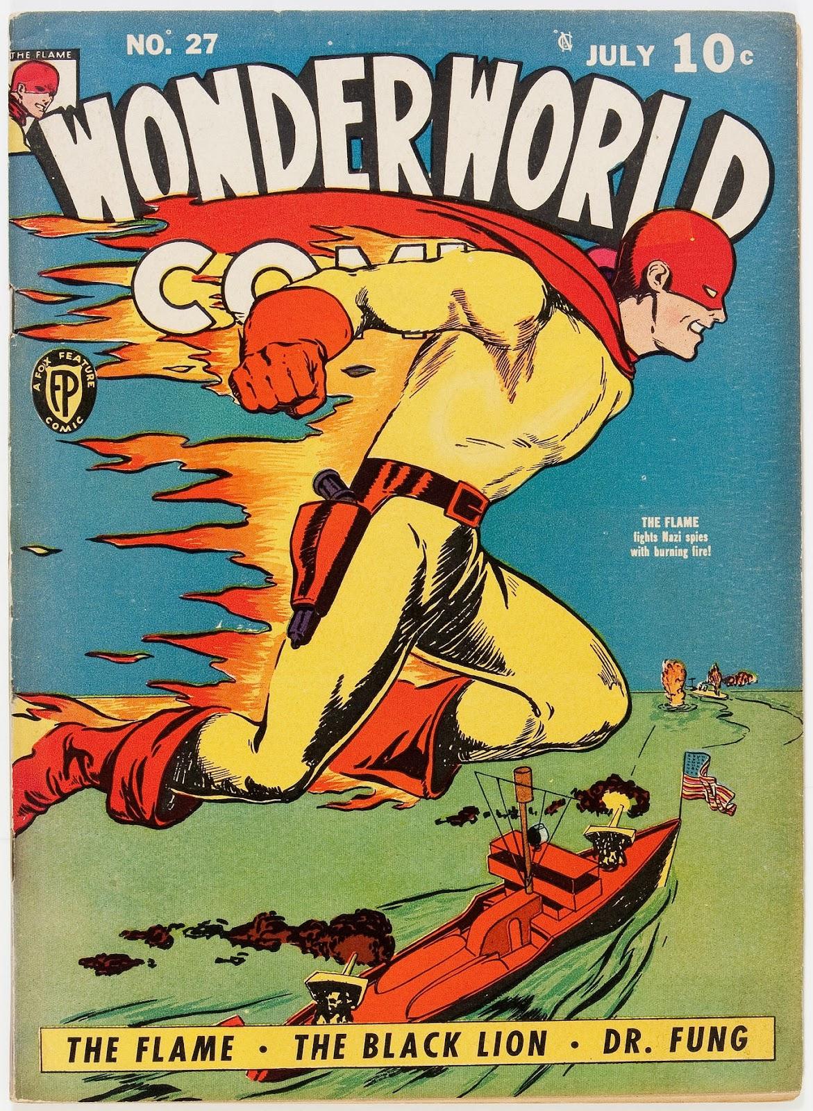 Wonderworld Comics issue 27 - Page 1