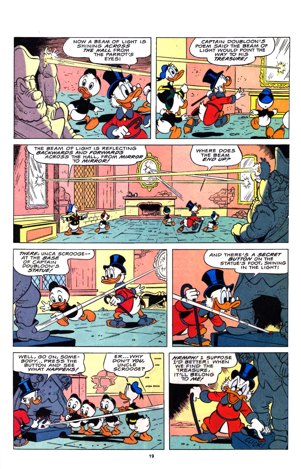 Read online Uncle Scrooge (1953) comic -  Issue #248 - 21