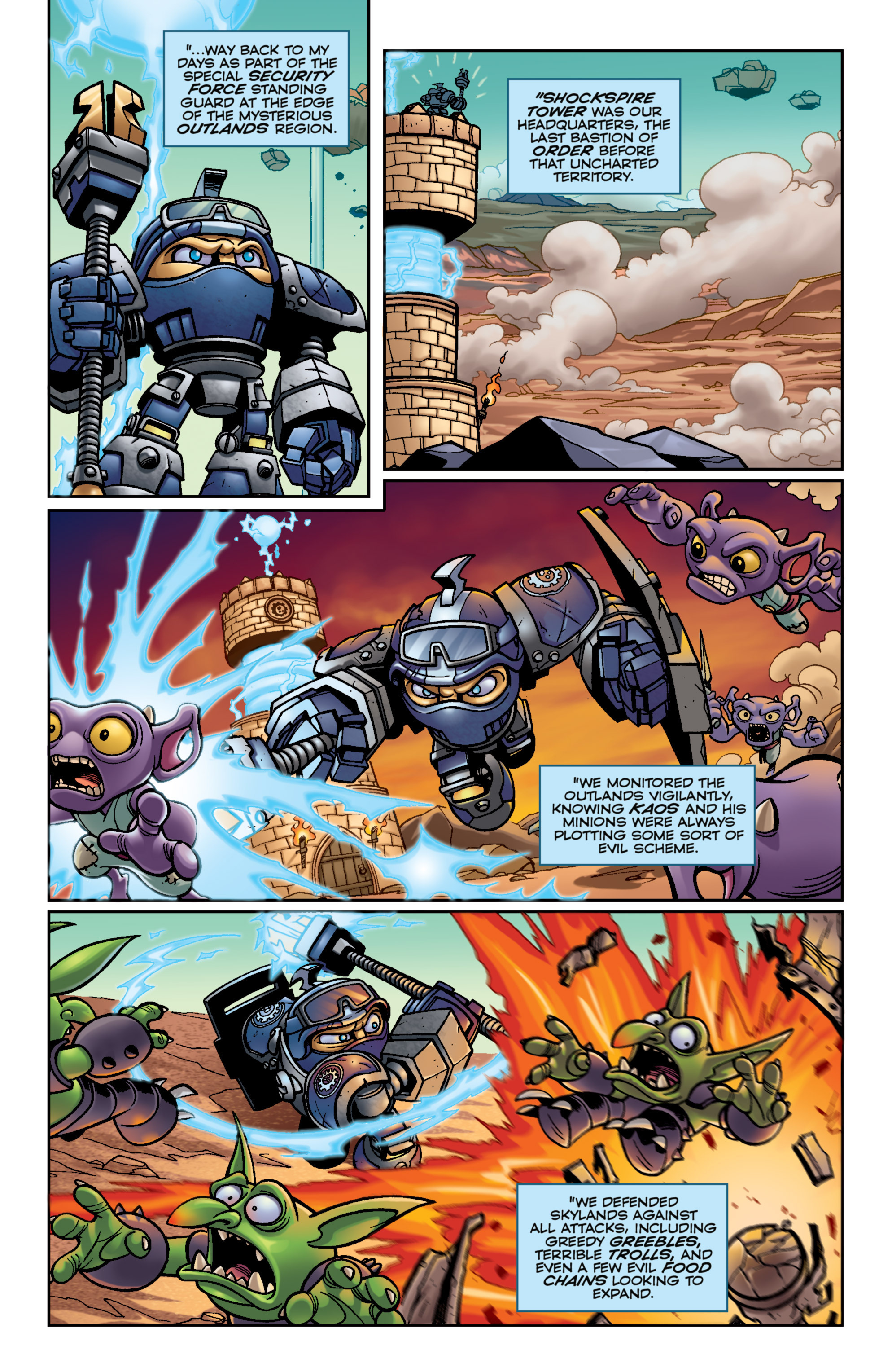 Read online Skylanders Superchargers comic -  Issue #6 - 19