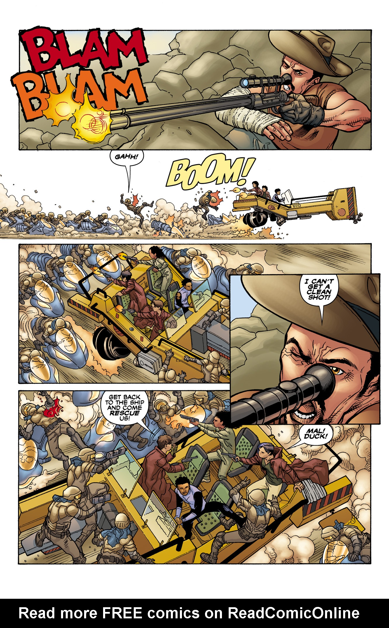 Read online Serenity: Firefly Class 03-K64  Leaves on the Wind comic -  Issue #6 - 15