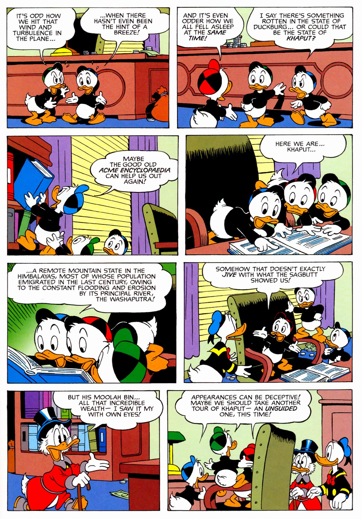 Read online Uncle Scrooge (1953) comic -  Issue #329 - 47