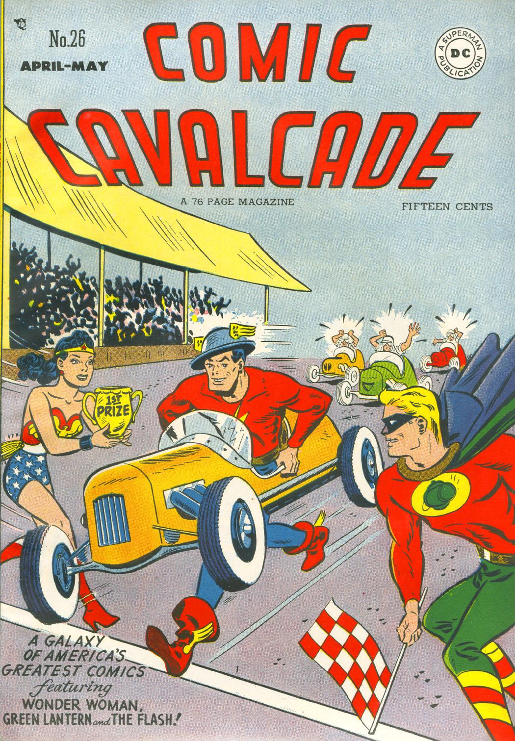 Comic Cavalcade issue 26 - Page 1