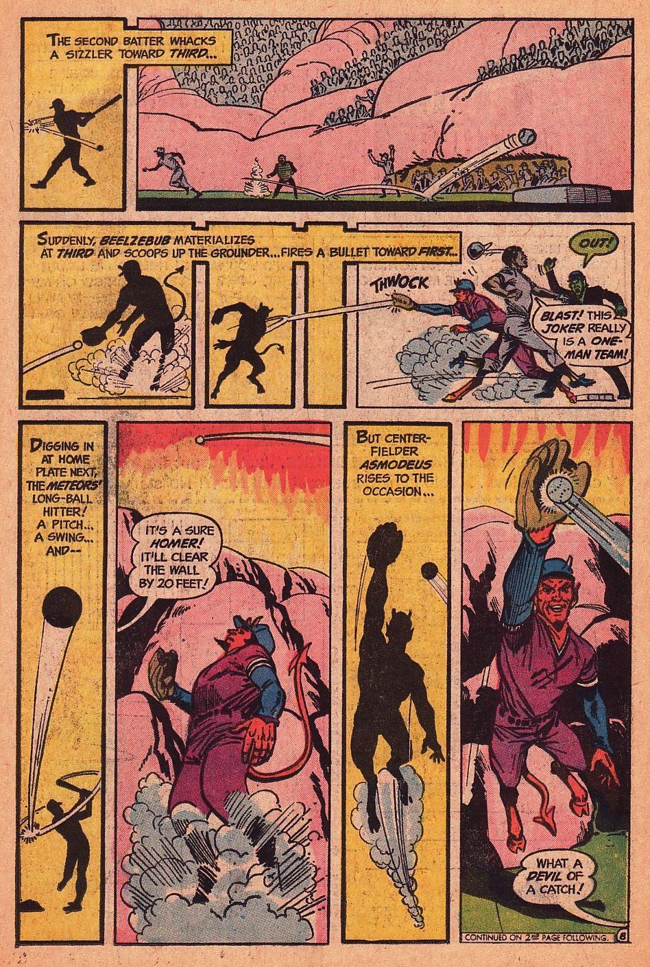 Read online Strange Sports Stories (1973) comic -  Issue #1 - 9