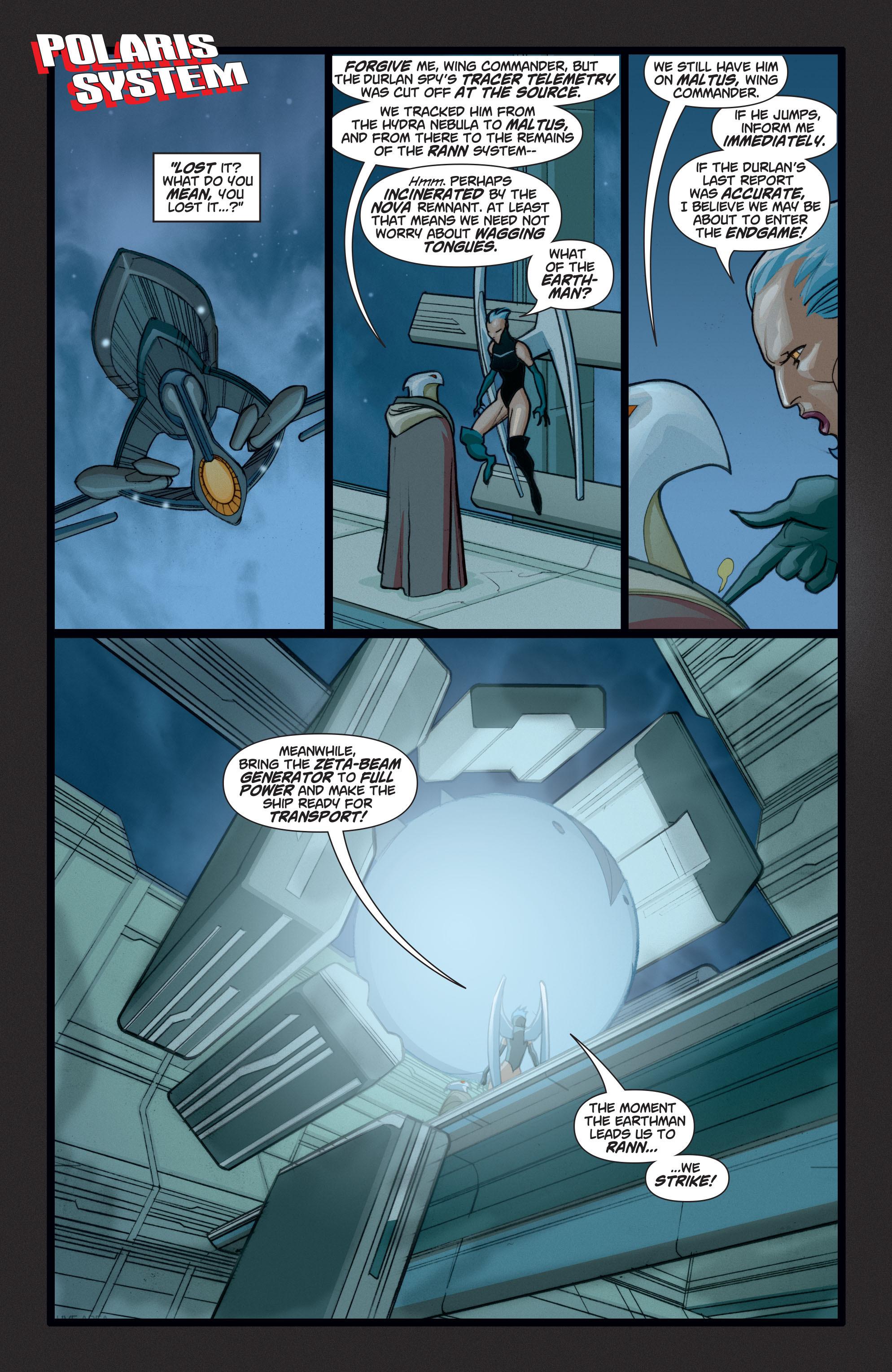 Read online Adam Strange (2004) comic -  Issue #6 - 14